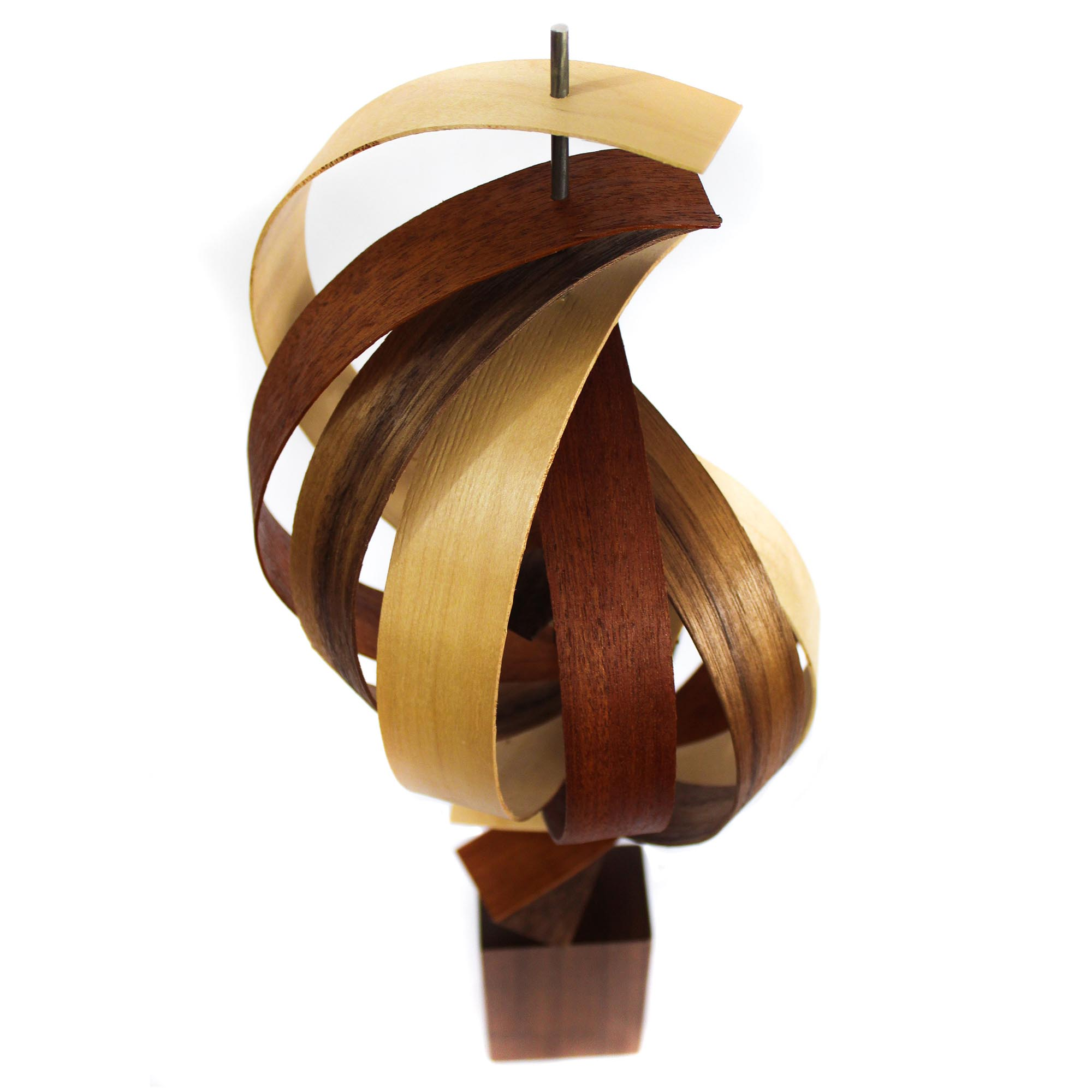 Reach by Jackson Wright - Modern Wood Sculpture, Mid-Century Home Decor - Image 3