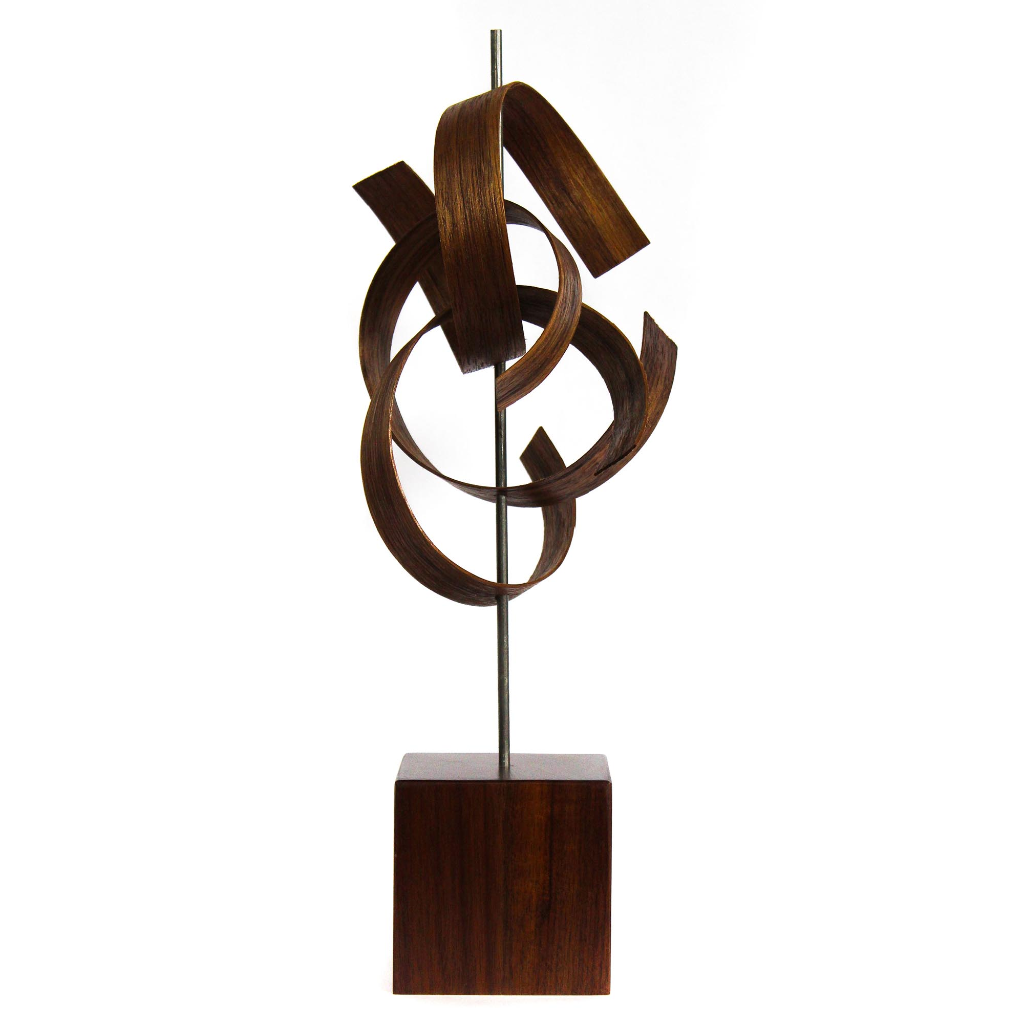 Scribble by Jackson Wright - Modern Wood Sculpture, Mid-Century Home Decor - Image 2