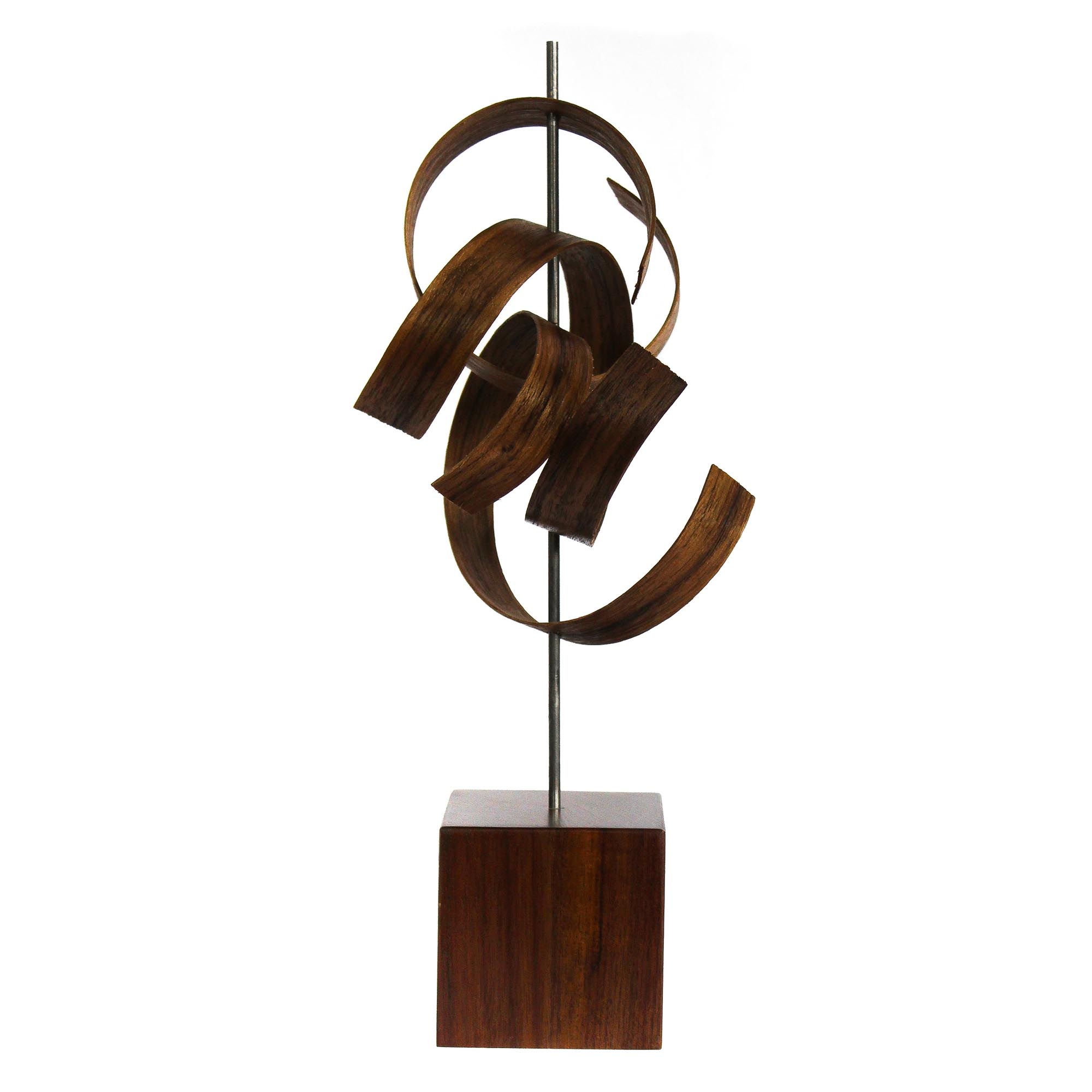 Scribble by Jackson Wright - Modern Wood Sculpture, Mid-Century Home Decor - Image 3