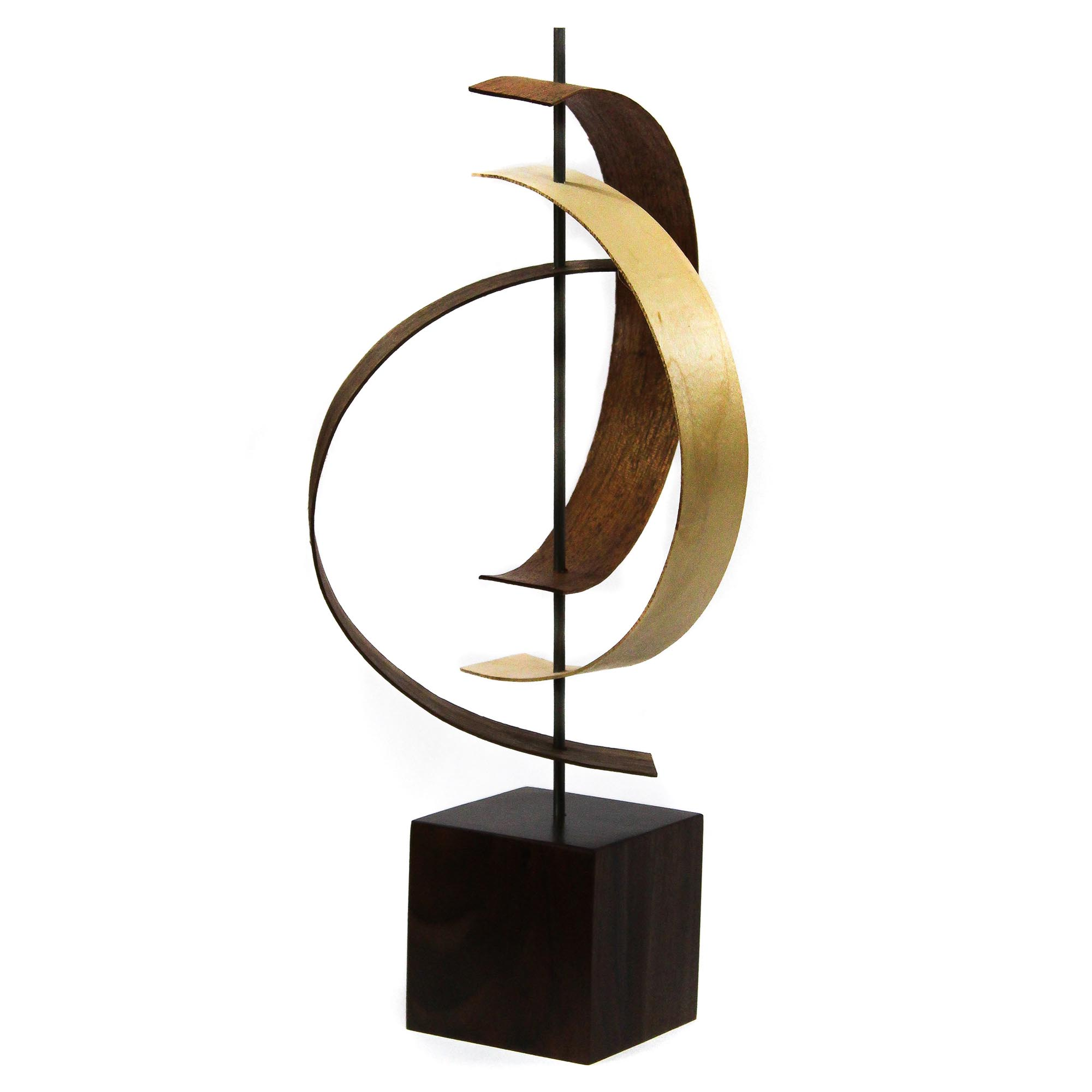 Origin by Jackson Wright - Modern Wood Sculpture, Mid-Century Home Decor - Image 2