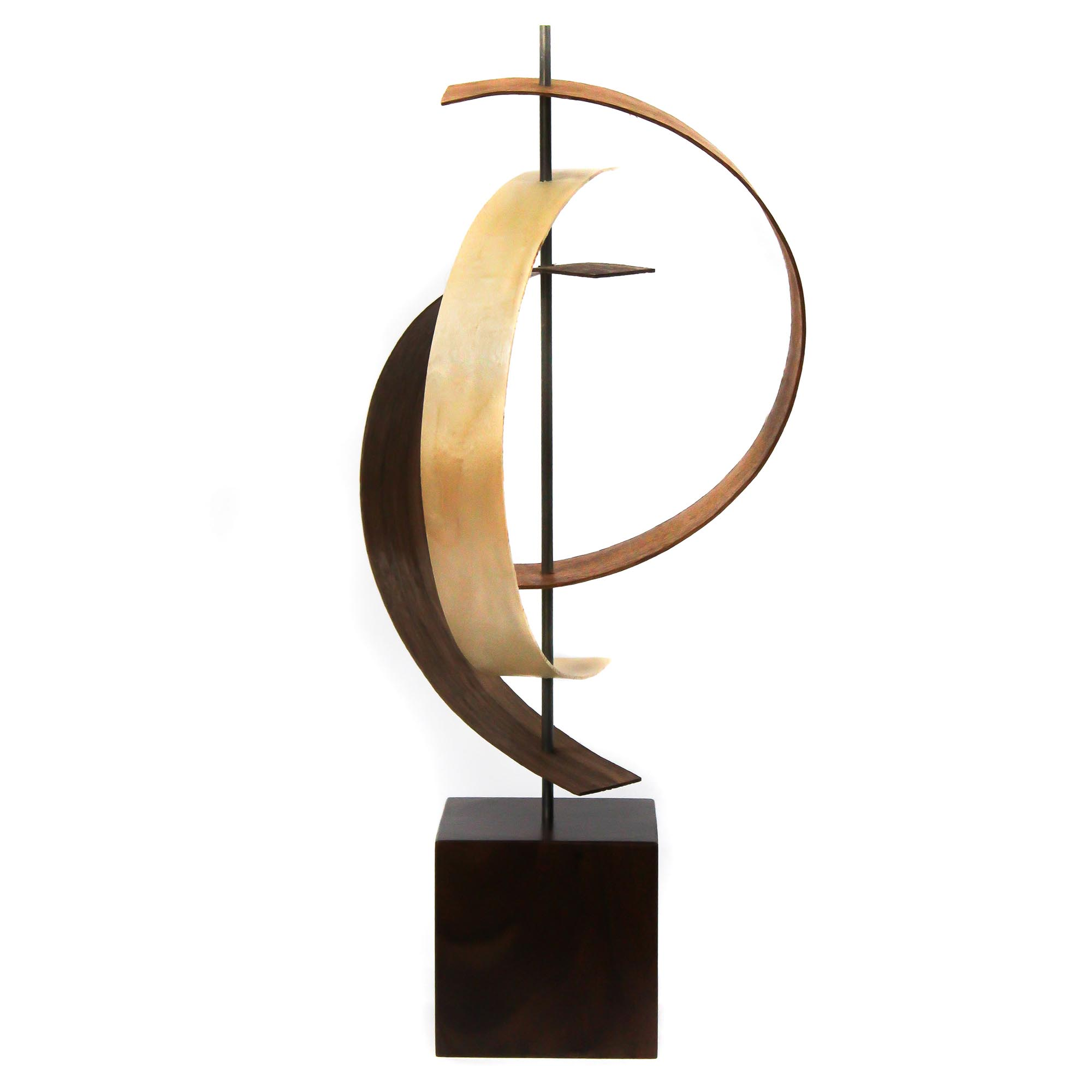 Origin by Jackson Wright - Modern Wood Sculpture, Mid-Century Home Decor - Image 3