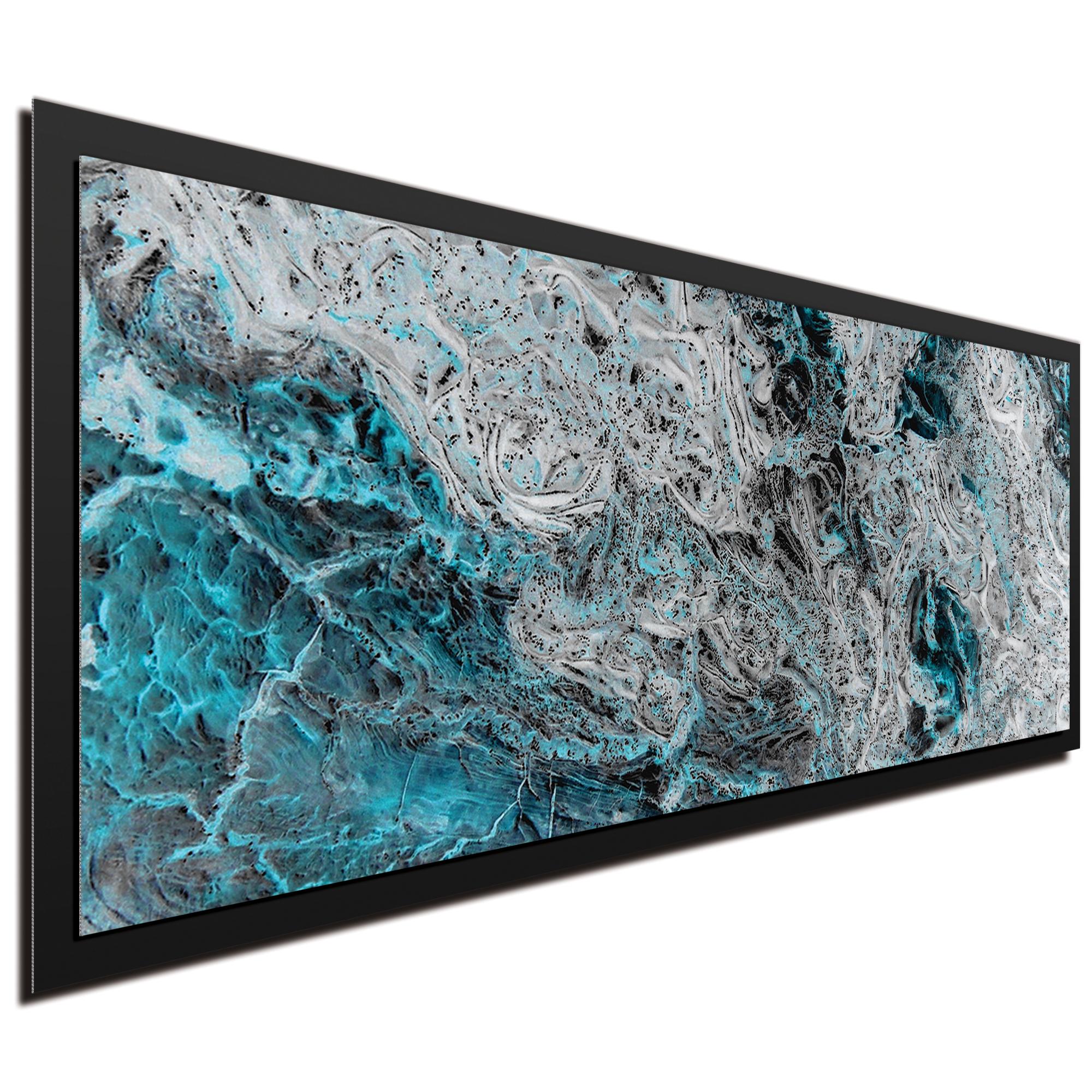 Storm Turquoise Framed - Image 2