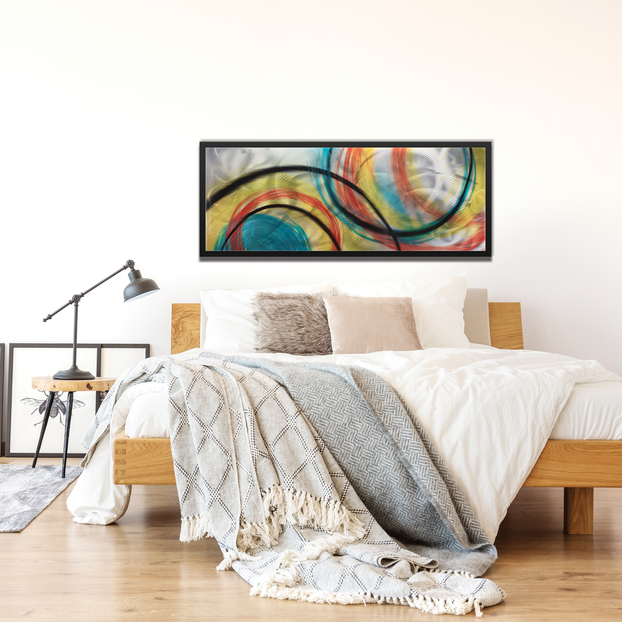 Rainbow Seasons Framed - Lifestyle View