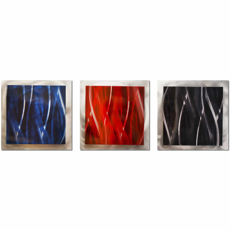Dark Essence - Layered Modern Metal Wall Art