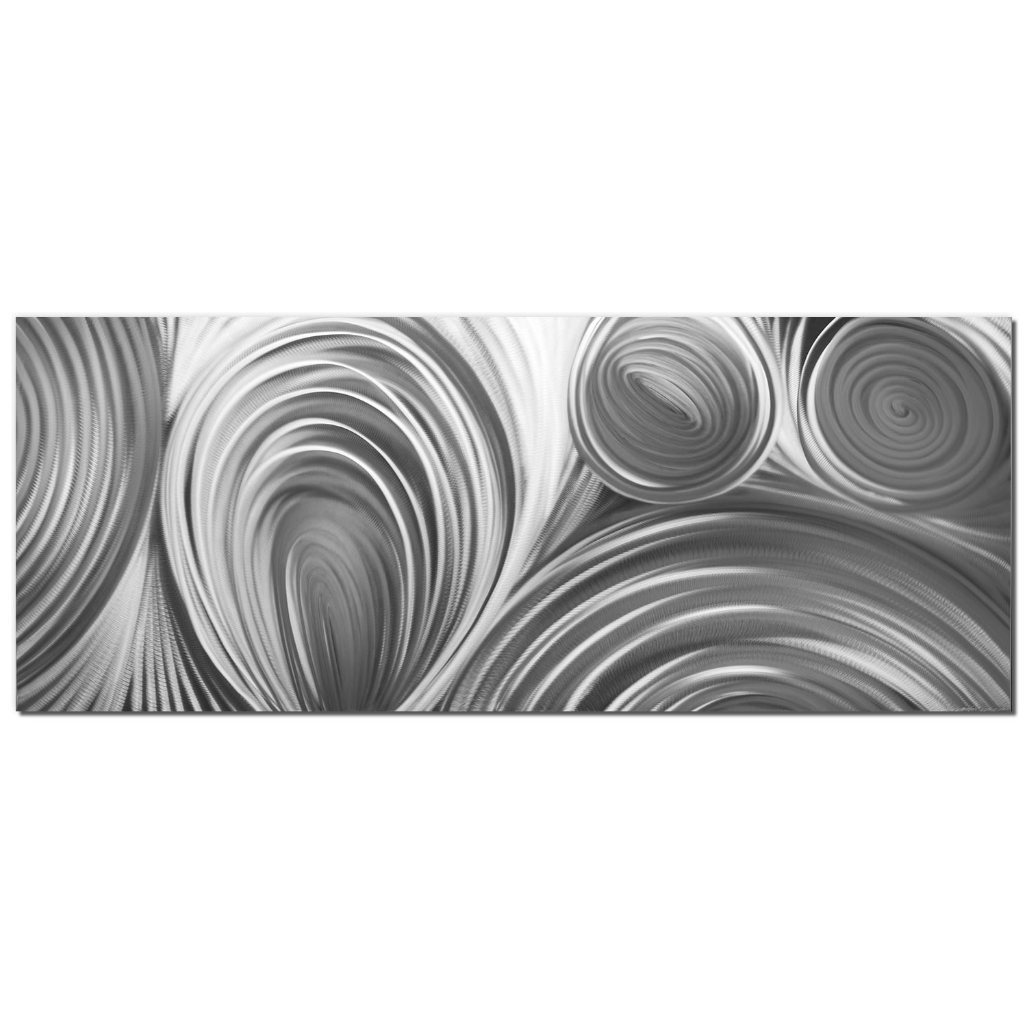 Conduction Composition - Modern Metal Wall Art