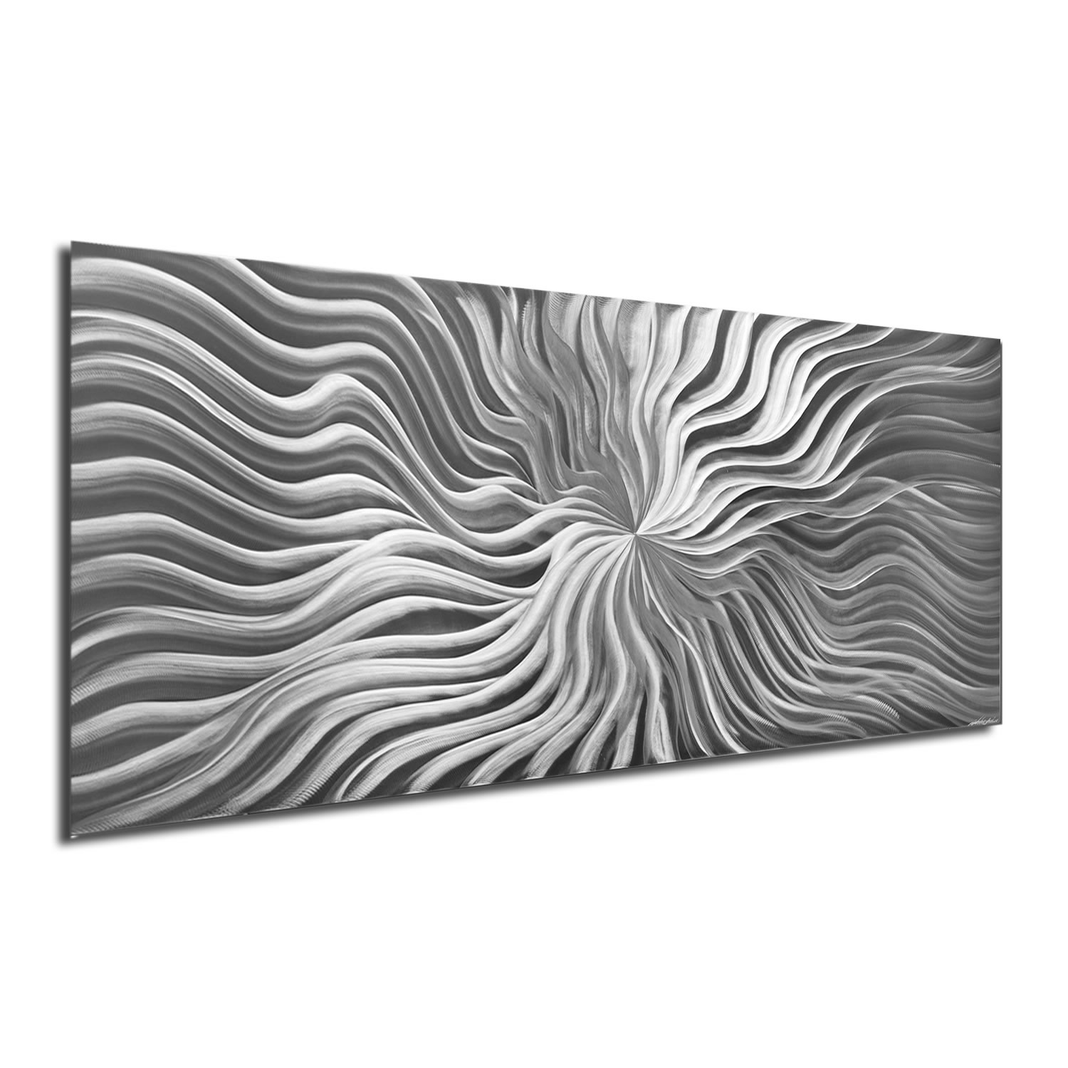 Flexure Composition - Modern Metal Wall Art