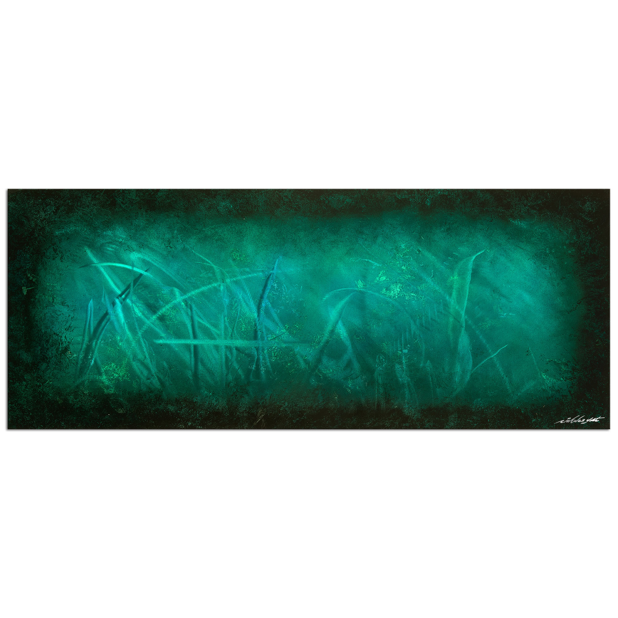 Ocean Mist - Contemporary Metal Wall Art