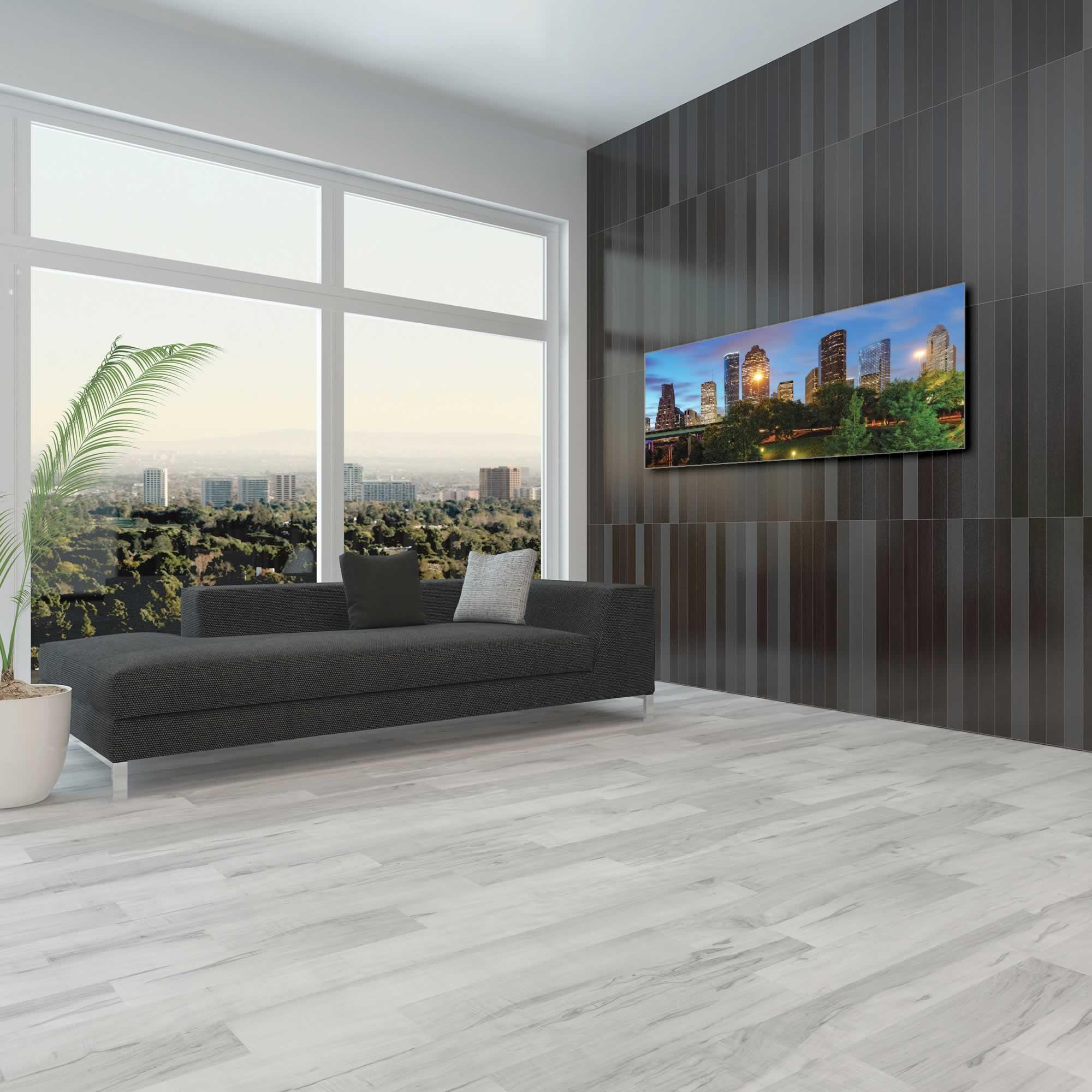 Houston City Skyline - Urban Modern Art, Designer Home Decor, Cityscape Wall Artwork, Trendy Contemporary Art - Alternate View 1