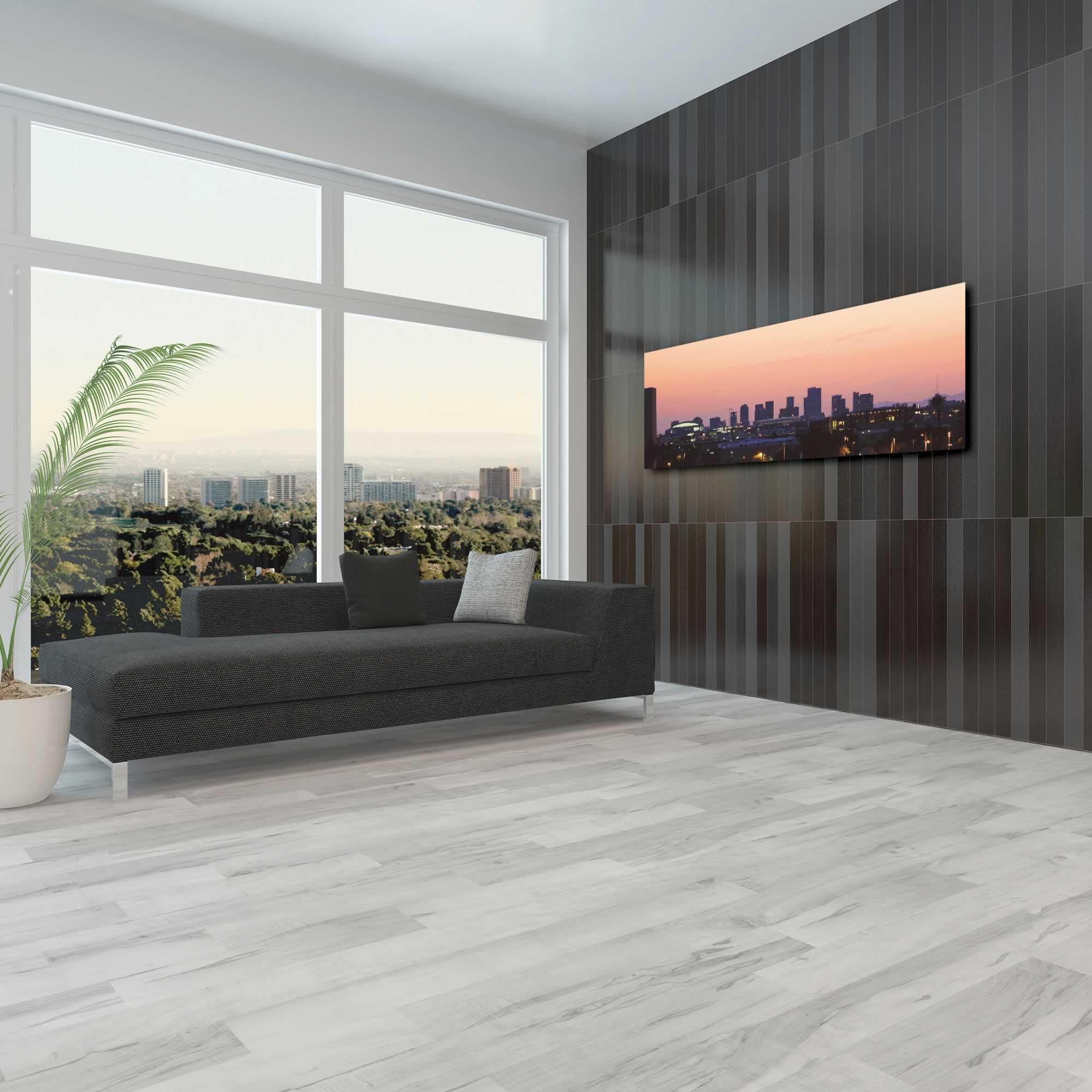 Phoenix City Skyline - Urban Modern Art, Designer Home Decor, Cityscape Wall Artwork, Trendy Contemporary Art - Alternate View 3