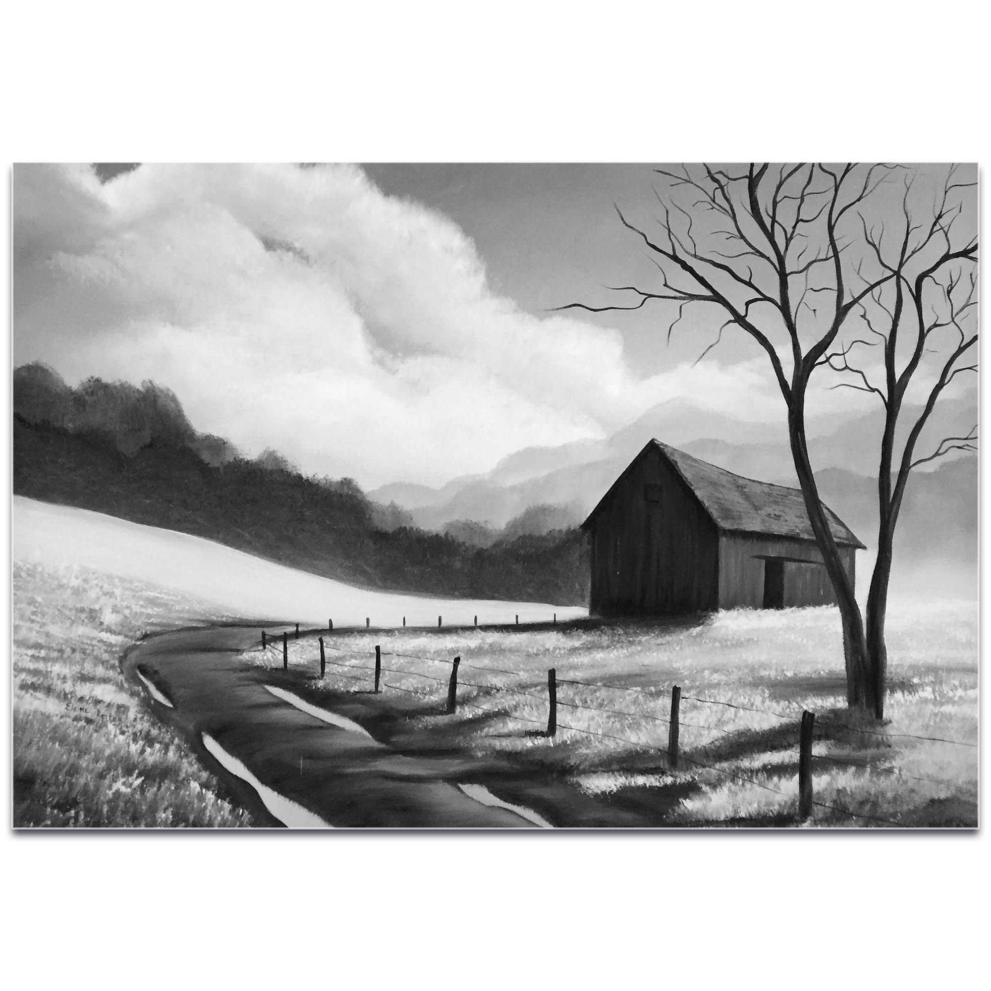 Western Painting 'Prairie Life' - Rustic Decor on Metal or Acrylic - Image 2