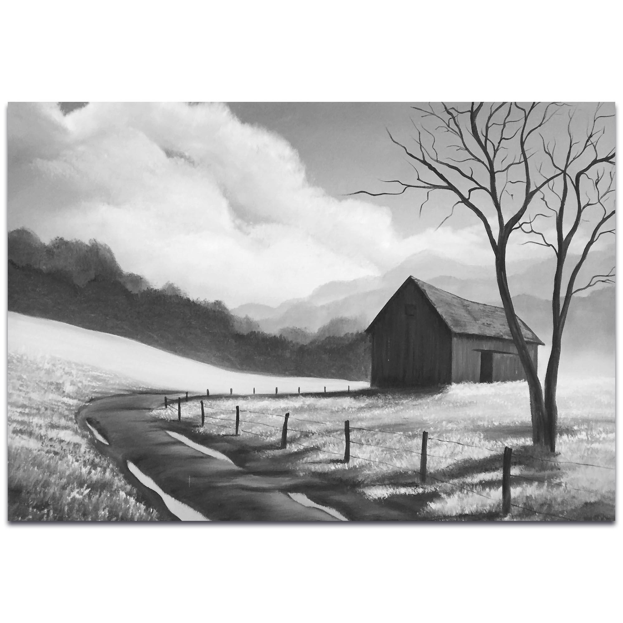 Western Painting 'Prairie Life' - Rustic Decor on Metal or Acrylic