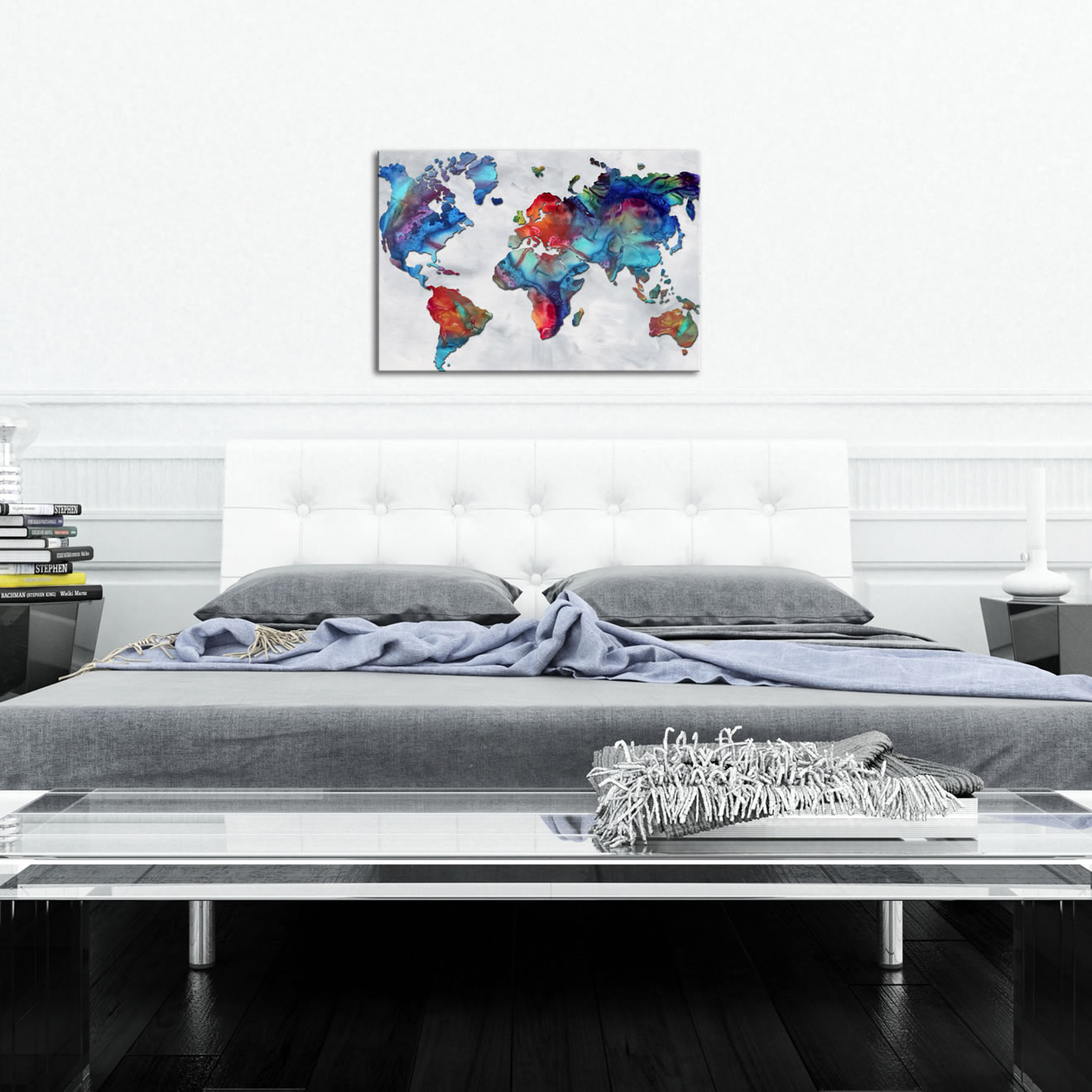 The Beauty of Color v2.3 - Abstract Painting Print by Megan Duncanson - Lifestyle Image