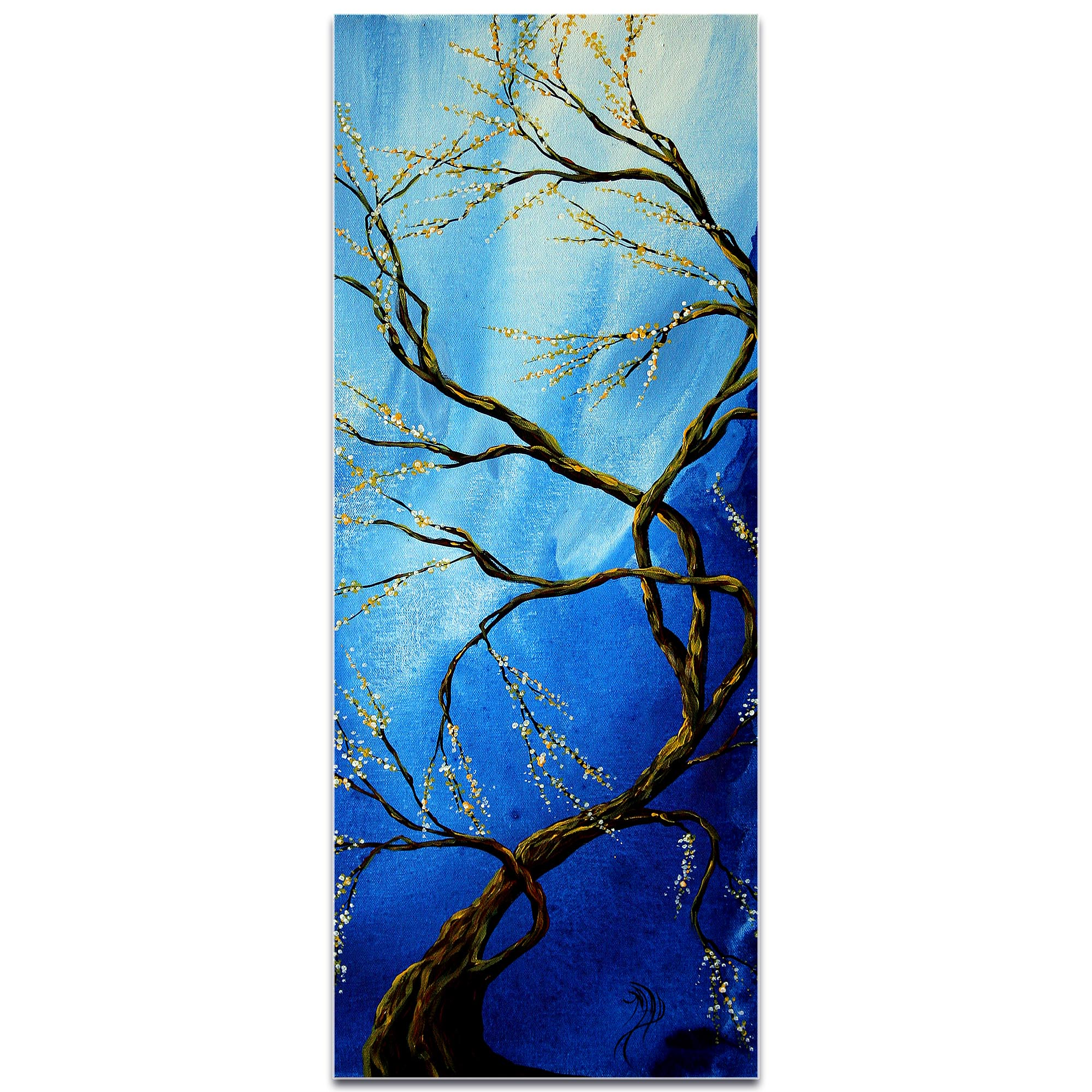 Landscape Painting 'Infinite Heights' - Abstract Tree Art on Metal or Acrylic - Image 2