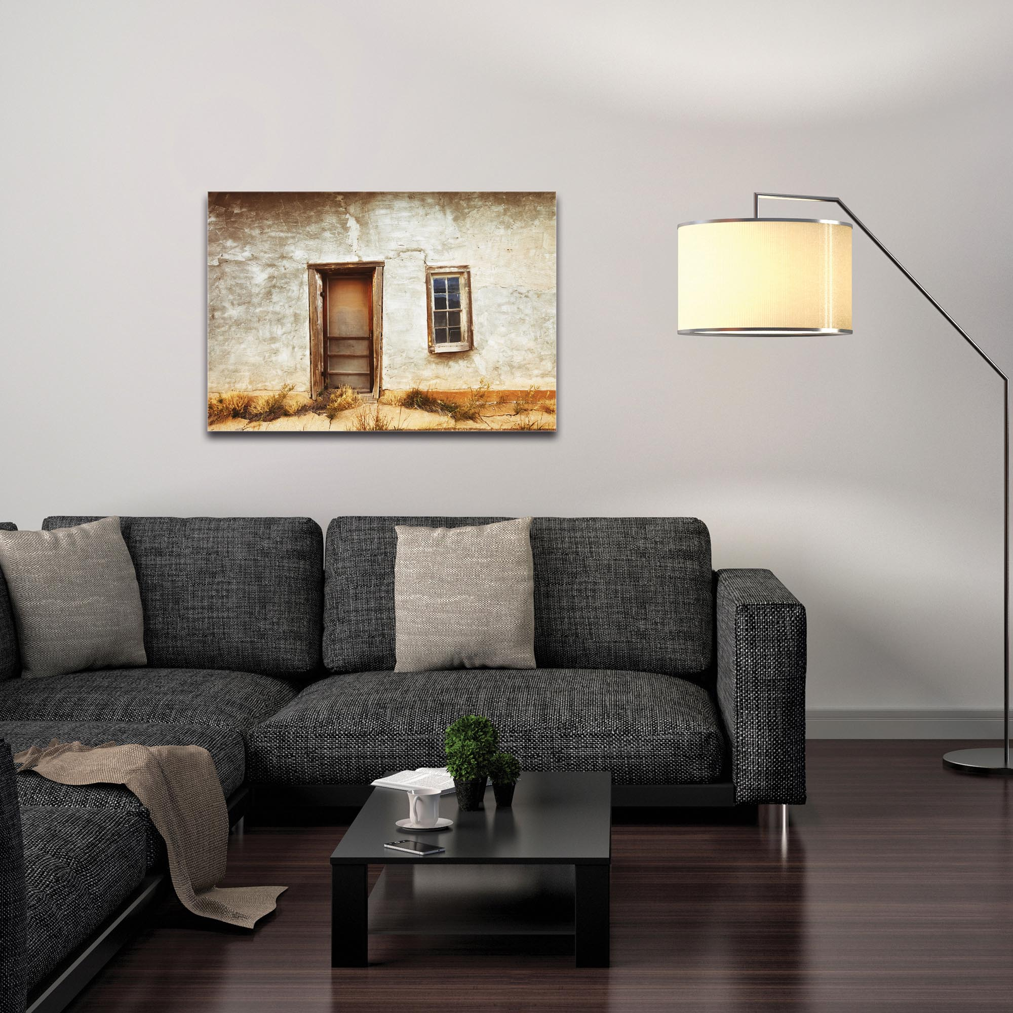 Eclectic Wall Art 'Southern Door' - Architecture Decor on Metal or Plexiglass - Image 3