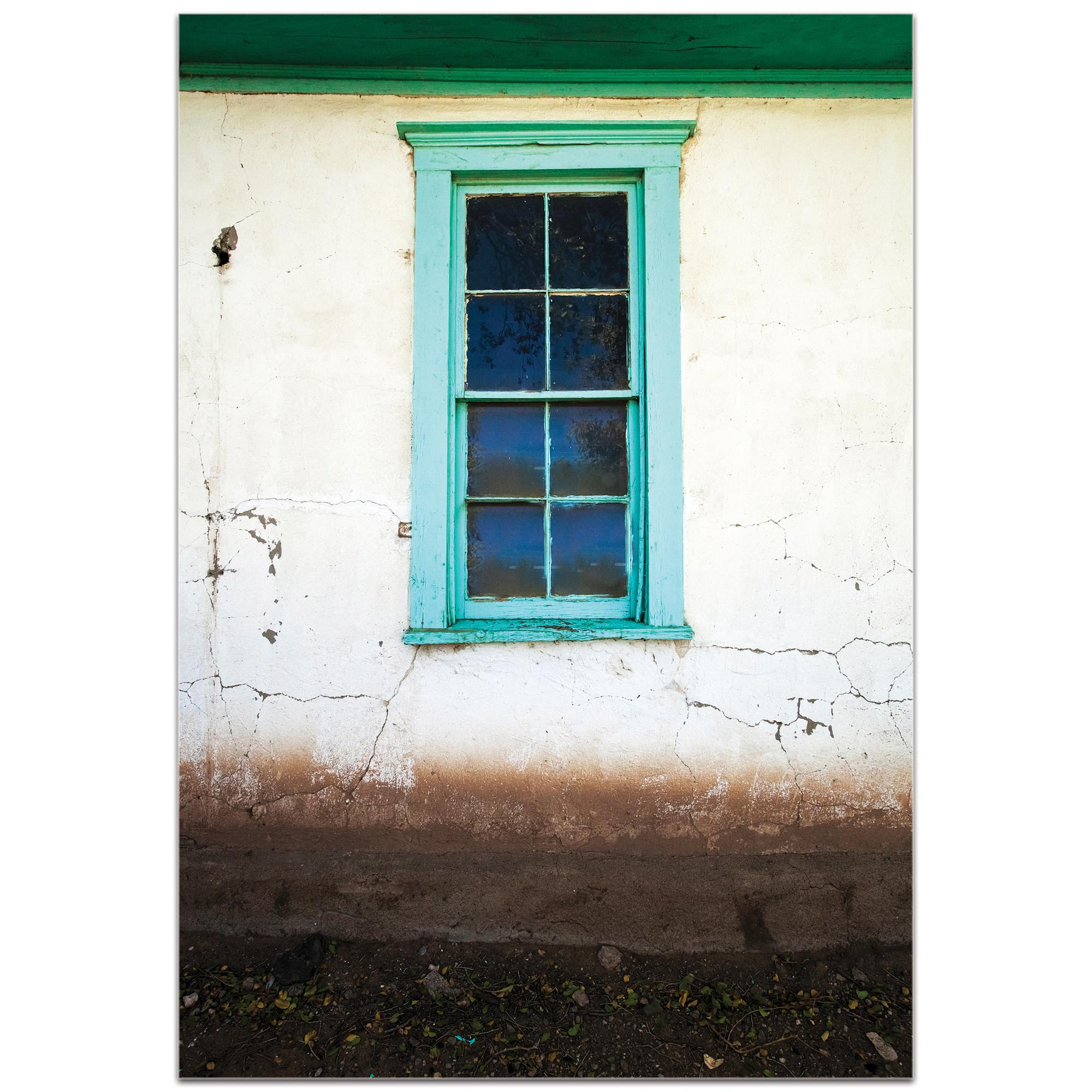 Eclectic Wall Art 'Bay Window' - Architecture Decor on Metal or Plexiglass - Image 2