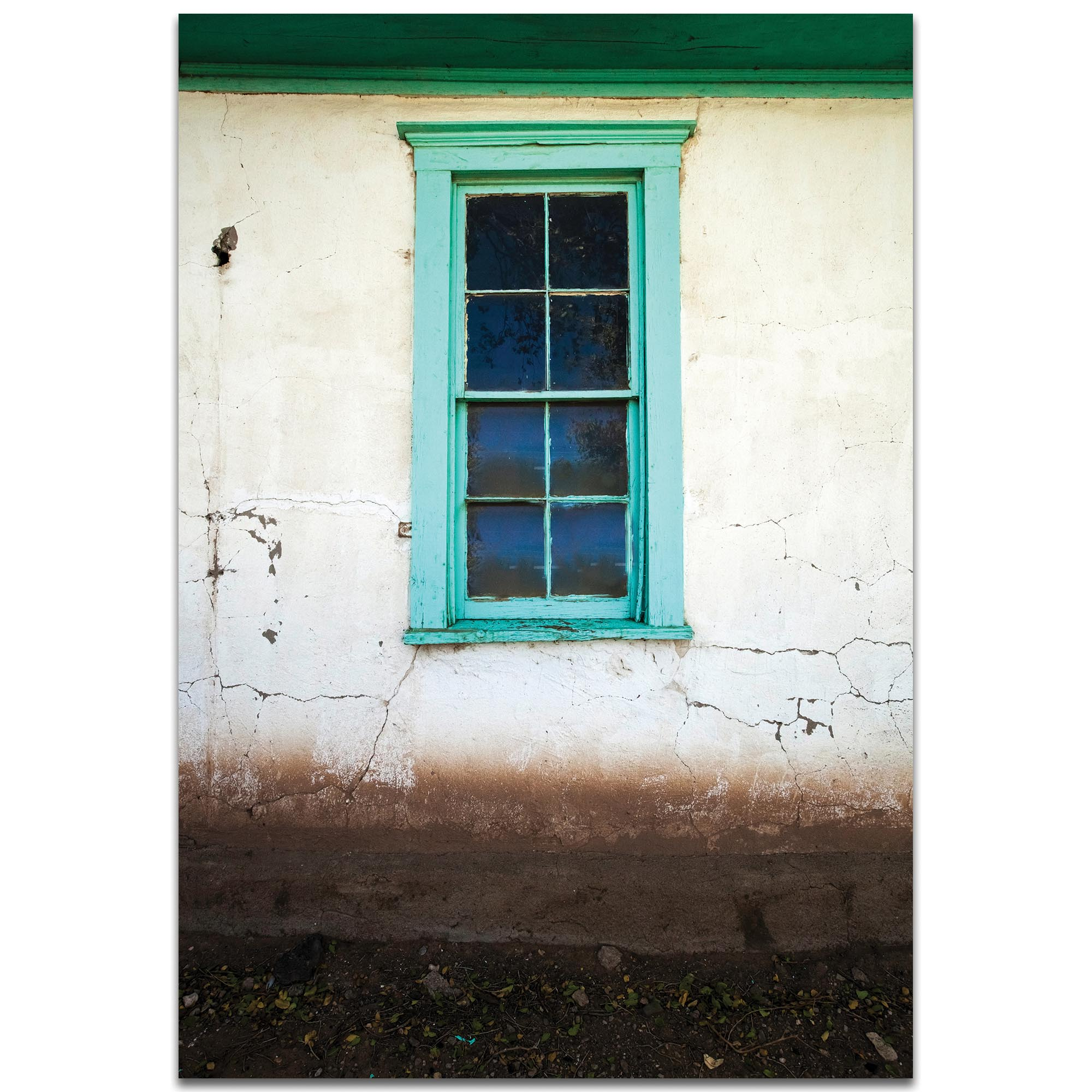 Eclectic Wall Art 'Bay Window' - Architecture Decor on Metal or Plexiglass