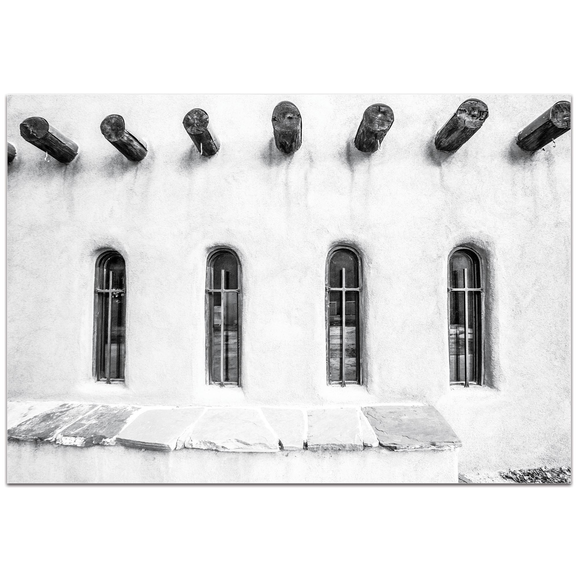 Eclectic Wall Art 'Holy Windows' - Architecture Decor on Metal or Plexiglass - Image 2