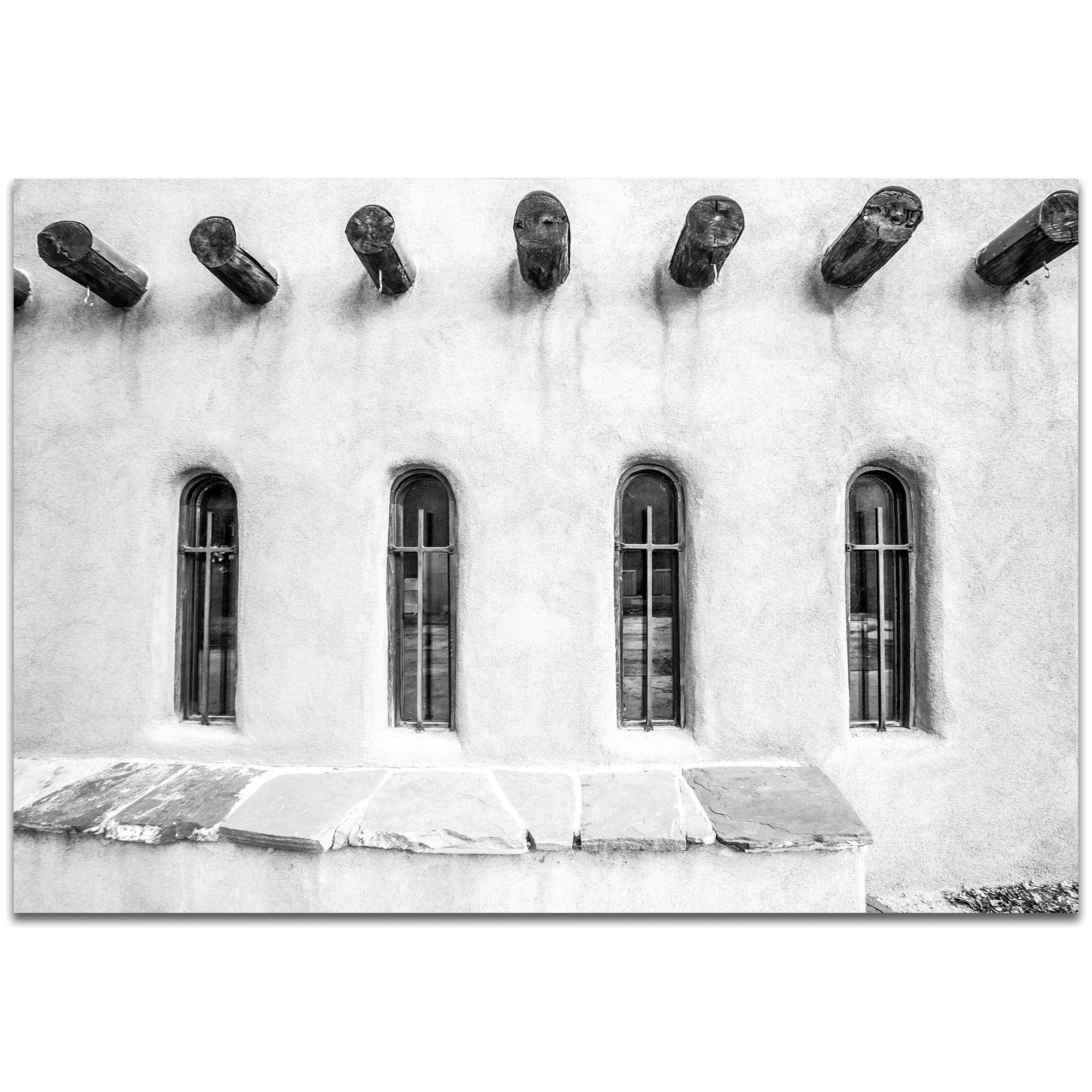 Eclectic Wall Art 'Holy Windows' - Architecture Decor on Metal or Plexiglass