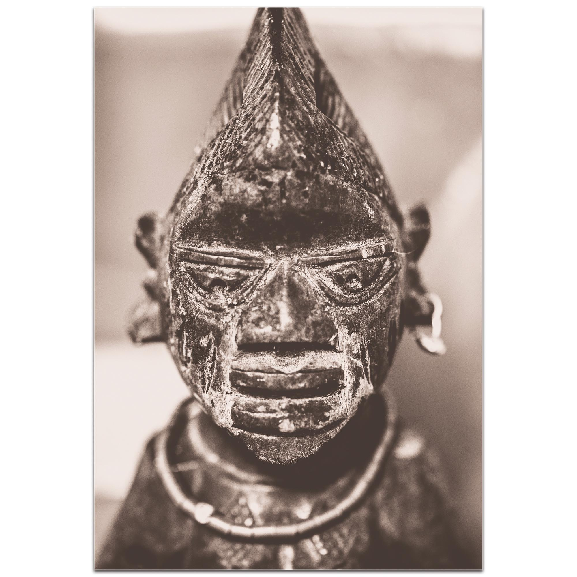 Eclectic Wall Art 'Voodoo Statue' - Religion Decor on Metal or Plexiglass - Image 2