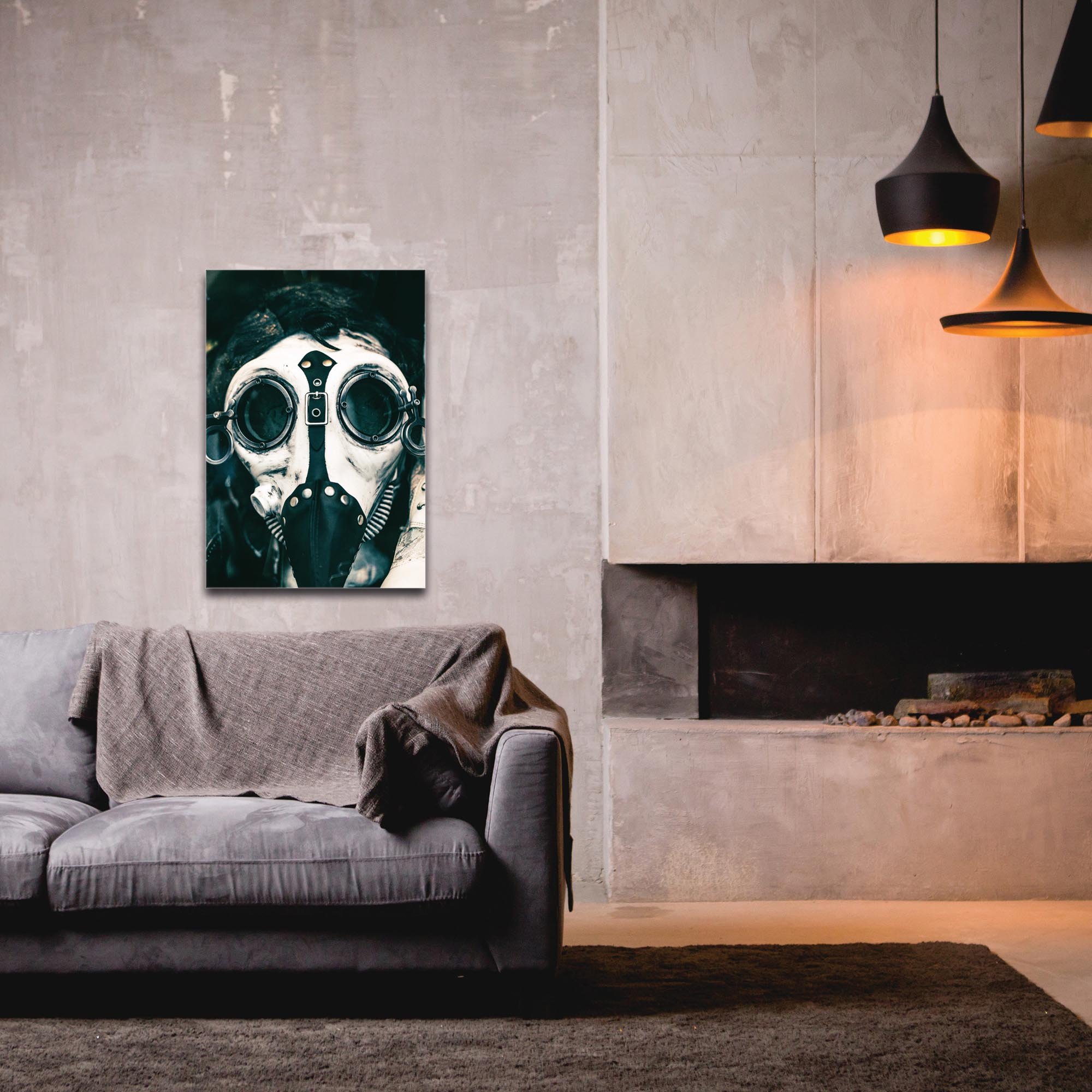 Eclectic Wall Art 'The Mask' - New Orleans Decor on Metal or Plexiglass - Image 3