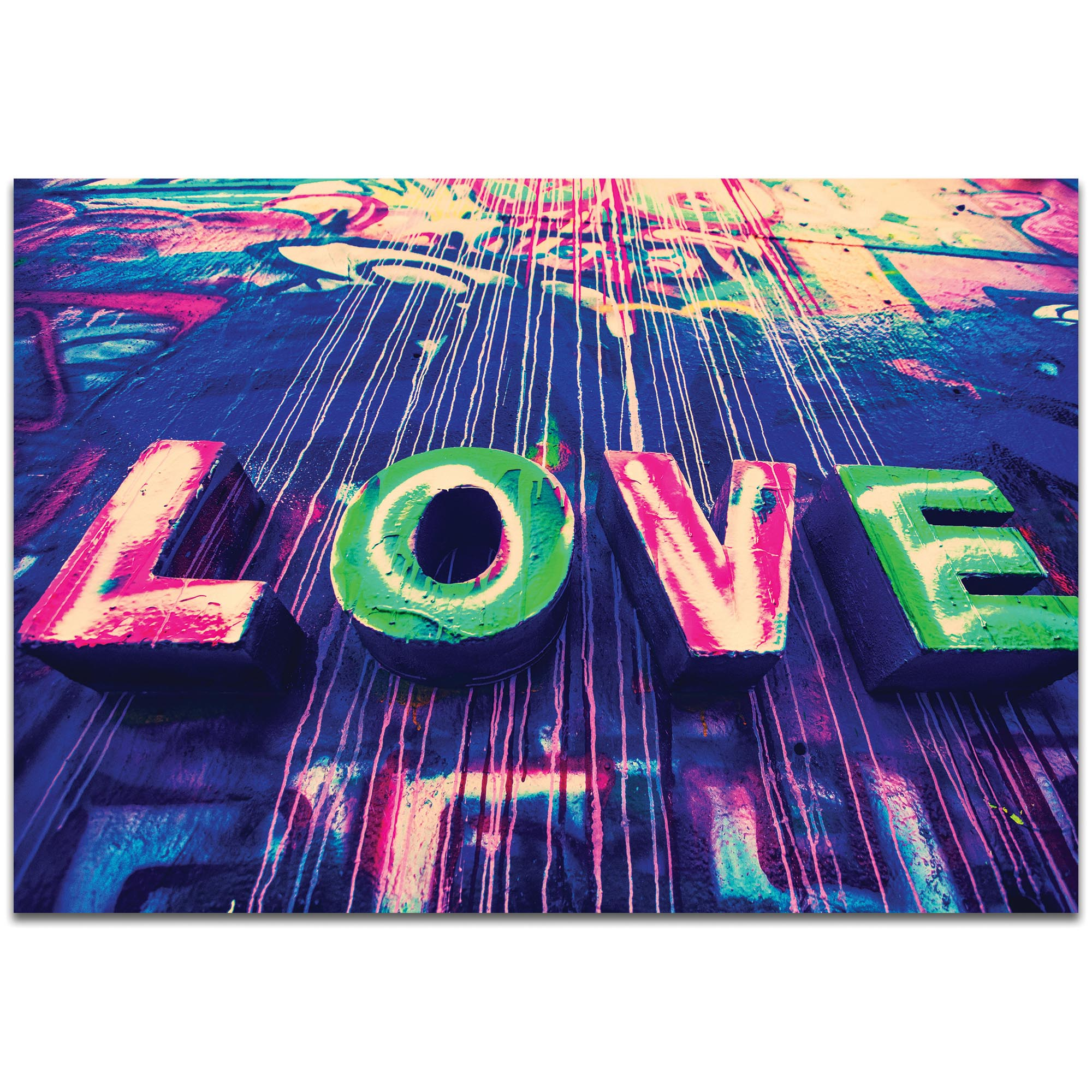 Eclectic Wall Art 'Urban Love' - New Orleans Decor on Metal or Plexiglass