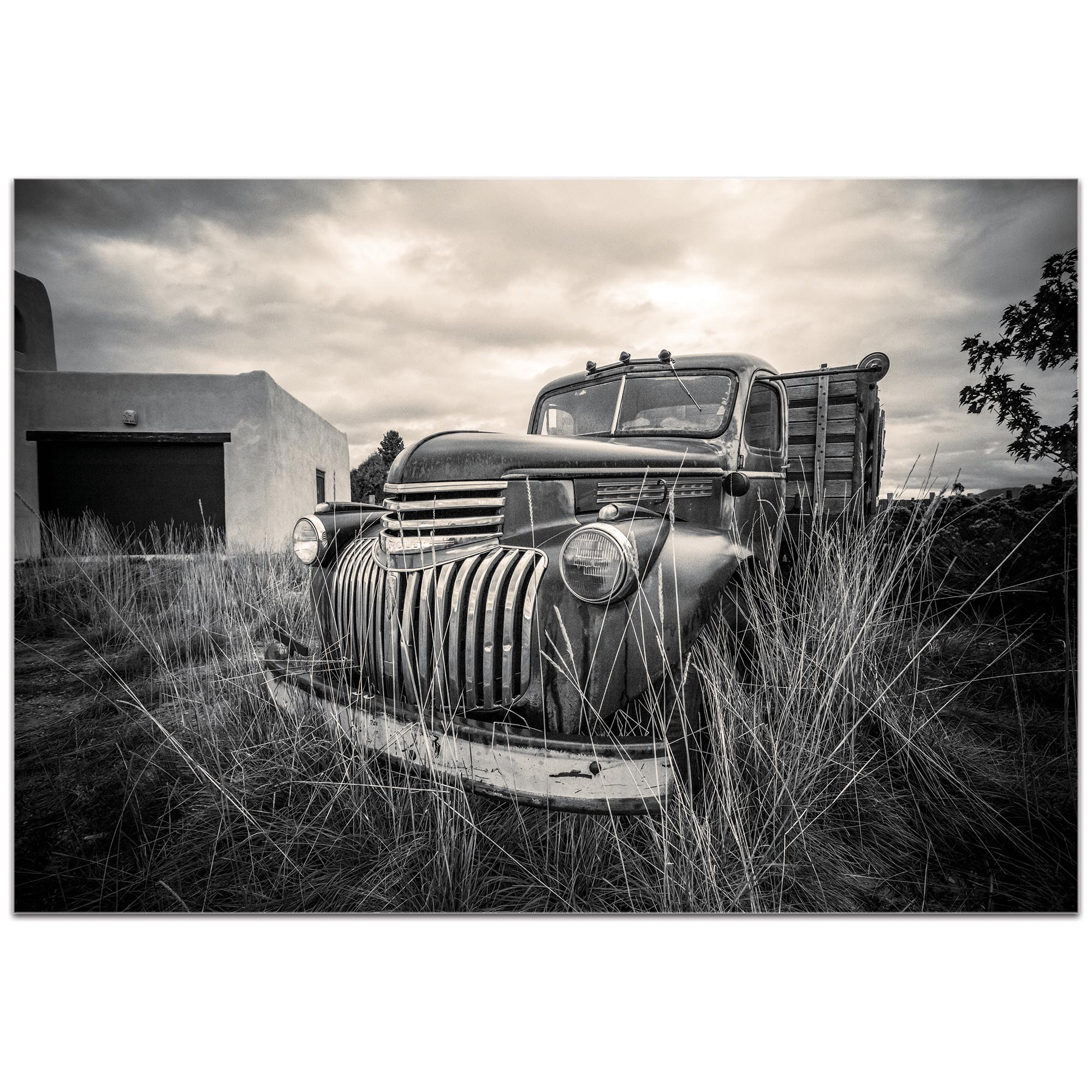 Americana Wall Art 'Farm Truck' - Classic Truck Decor on Metal or Plexiglass - Image 2