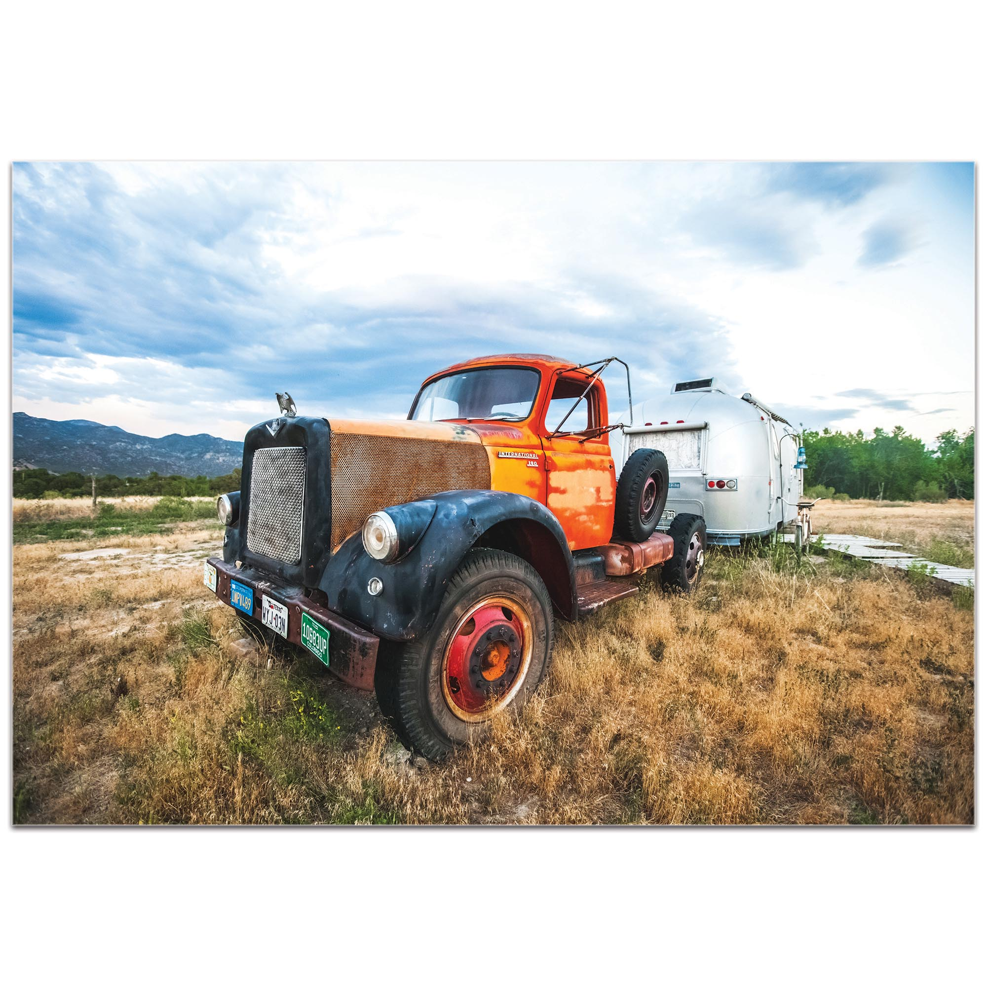 Americana Wall Art 'The Workhorse' - Classic Truck Decor on Metal or Plexiglass - Image 2