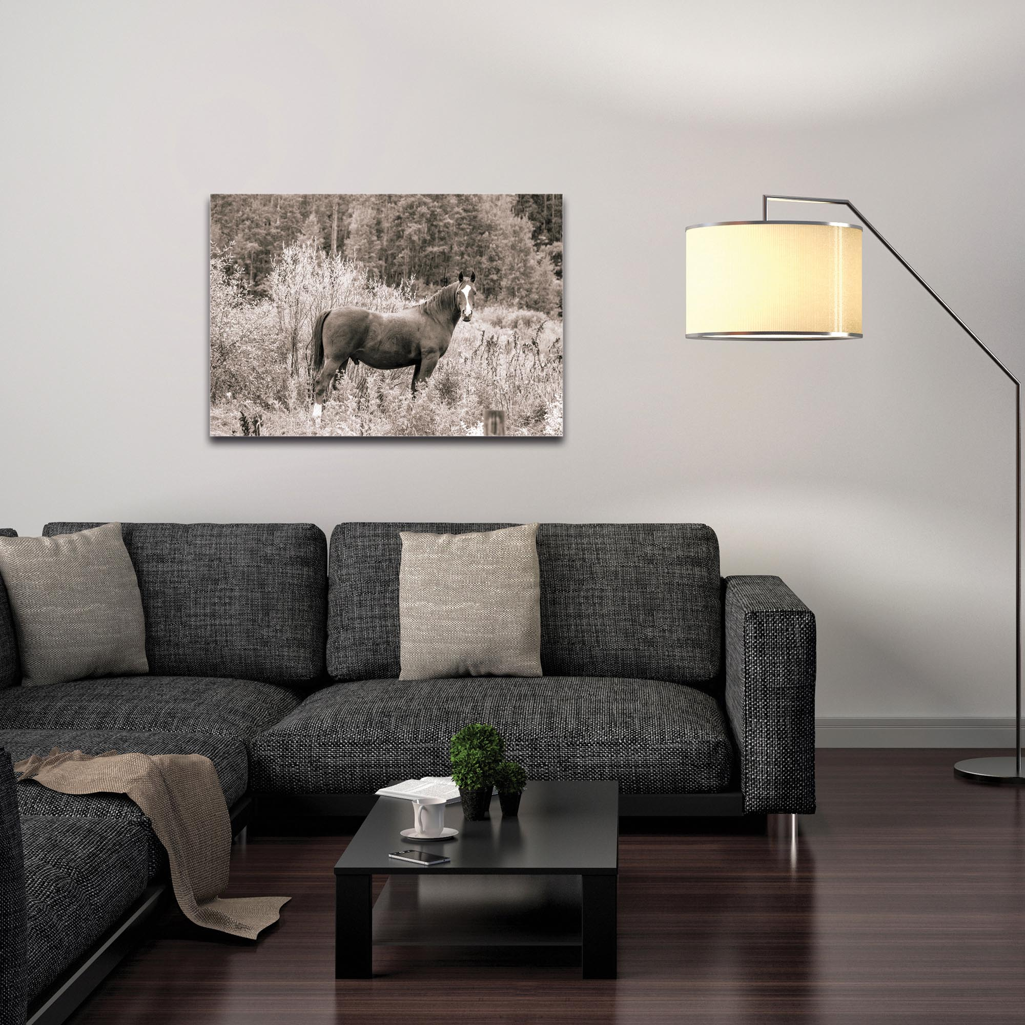 Western Wall Art 'Equine Forest' - Horses Decor on Metal or Plexiglass - Image 3