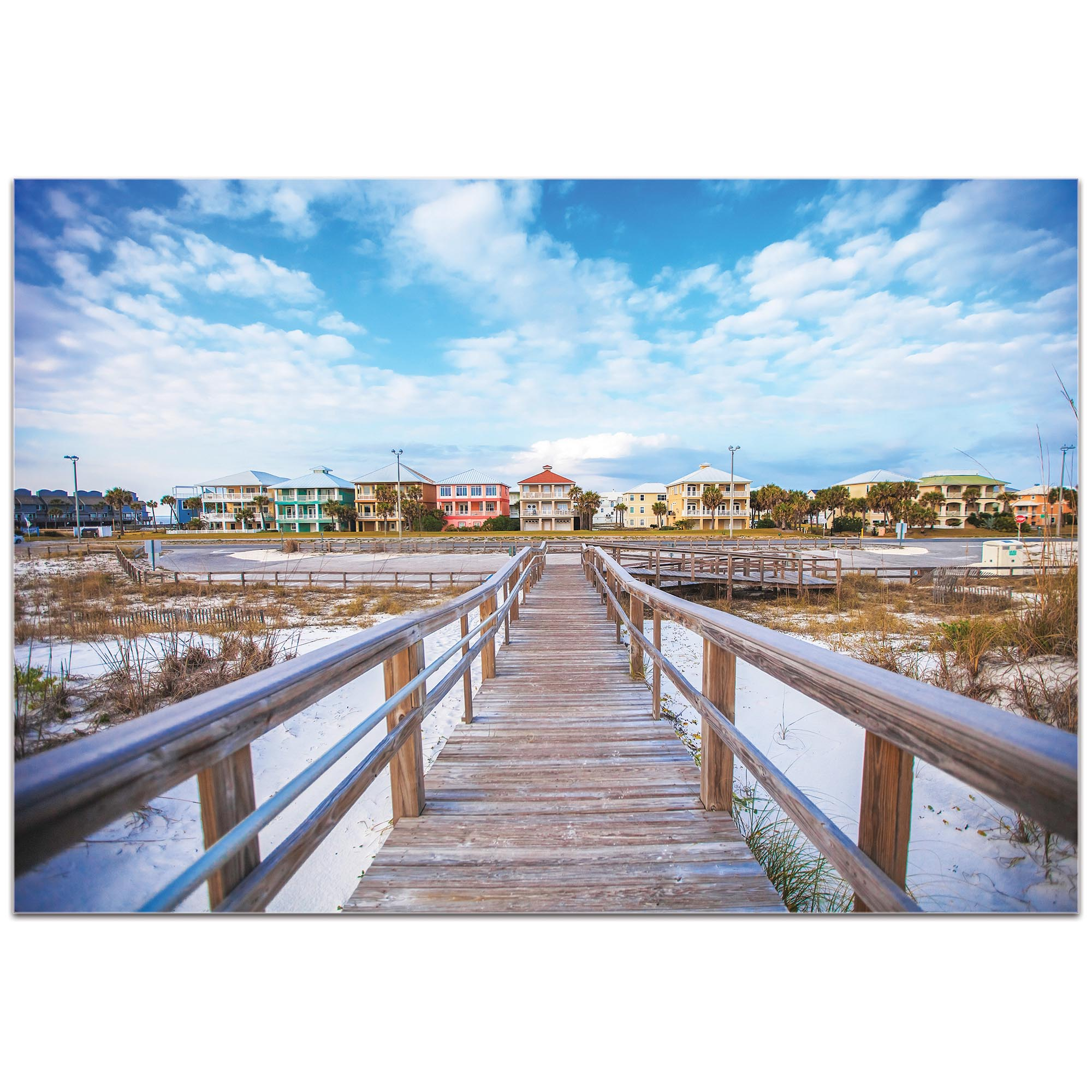 Coastal Wall Art 'Gulf Path' - Bridges Decor on Metal or Plexiglass - Image 2
