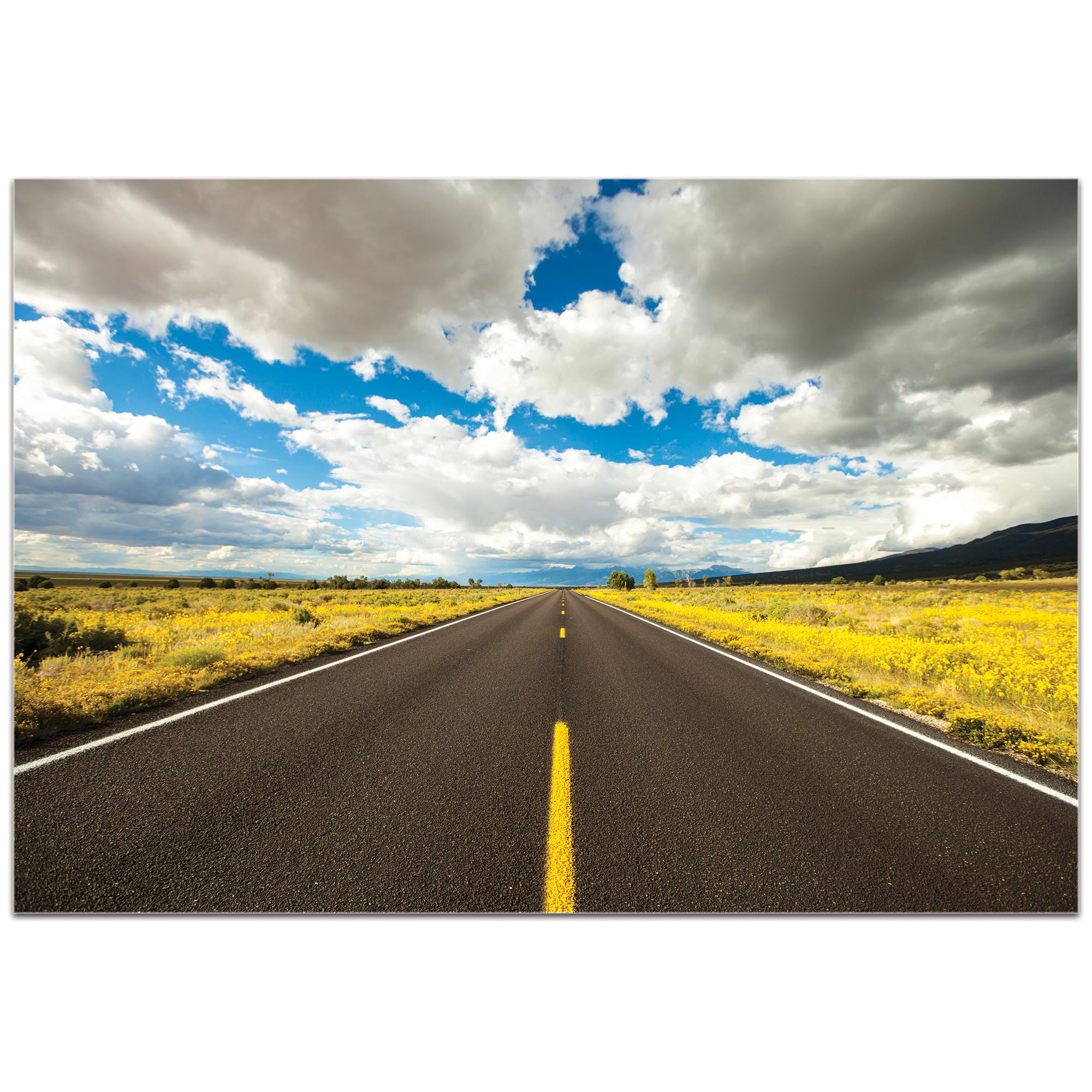Americana Wall Art 'Road Trip' - Open Road Decor on Metal or Plexiglass - Image 2