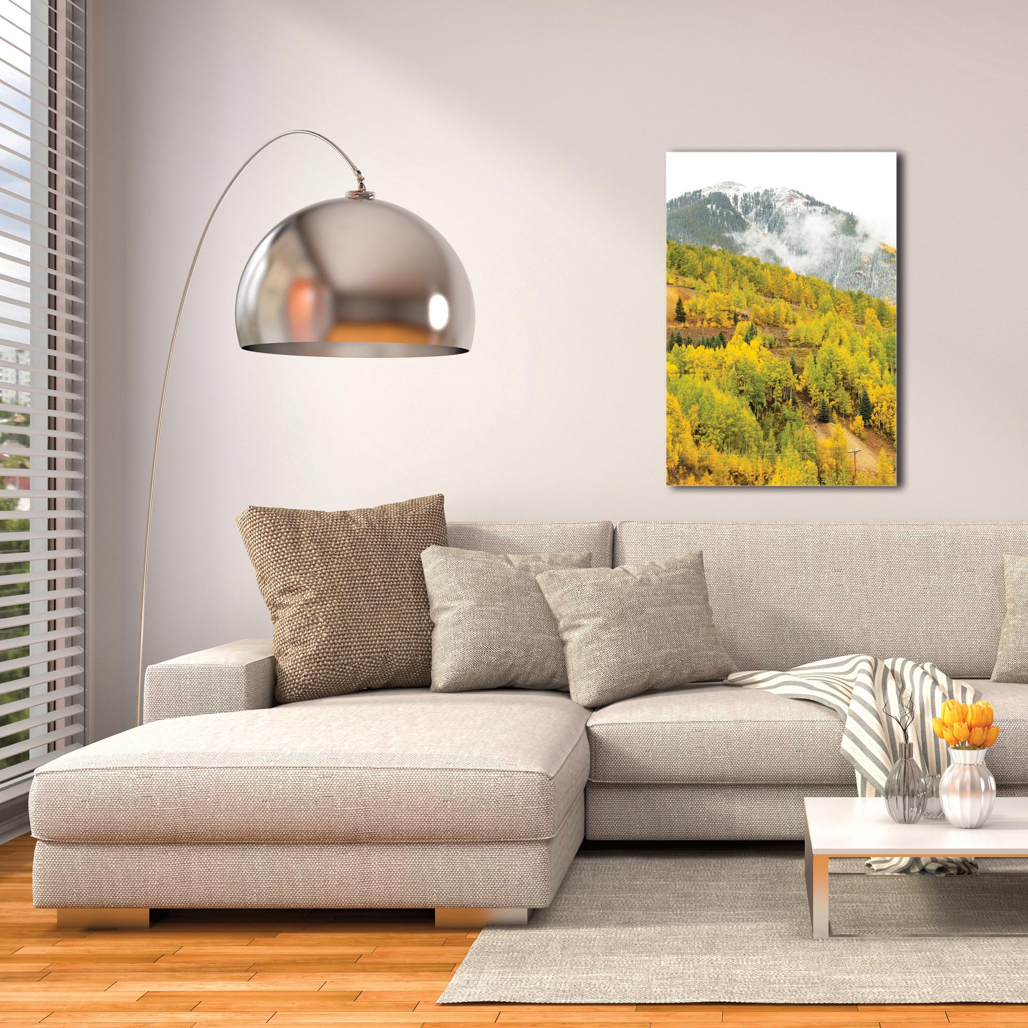 Landscape Photography 'Changing Season' - Autumn Nature Art on Metal or Plexiglass - Image 3