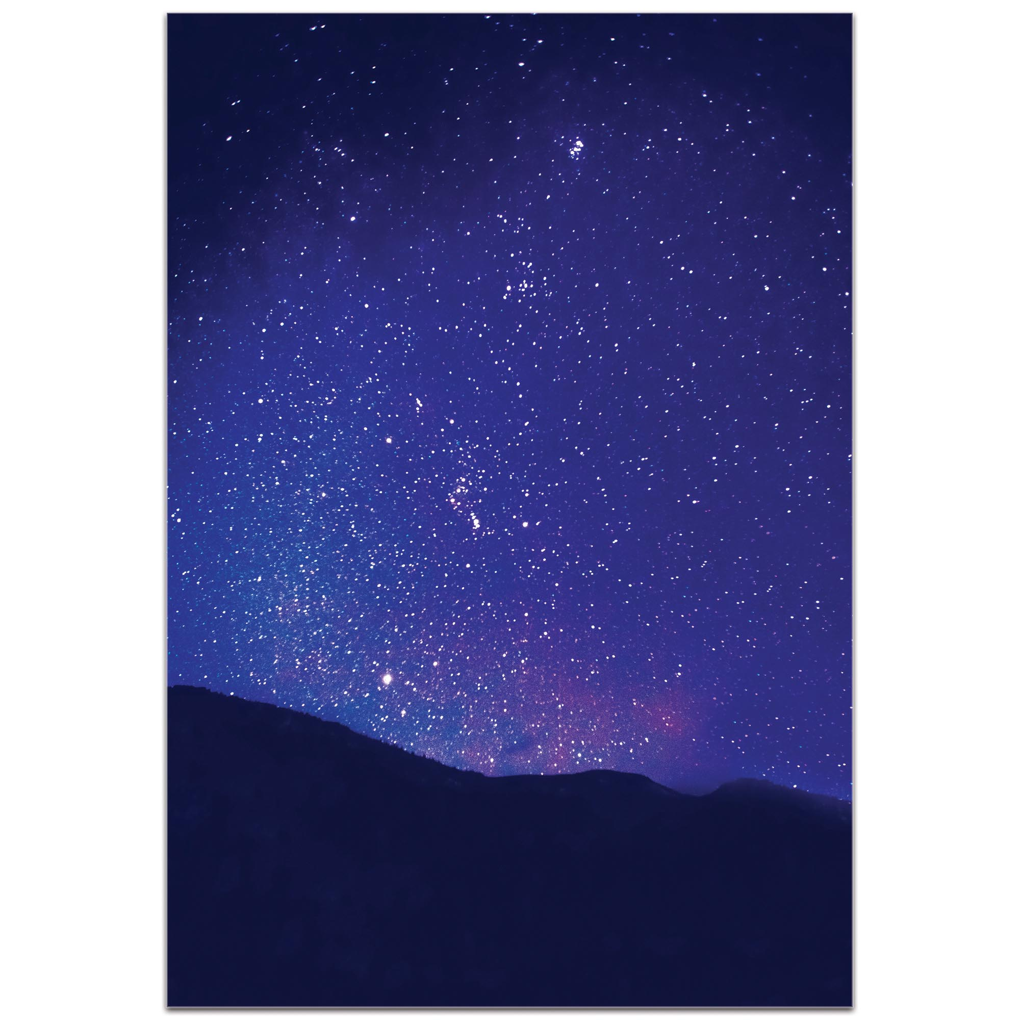 Nature Photography 'Satin Sky' - Night Sky Art on Metal or Plexiglass - Image 2