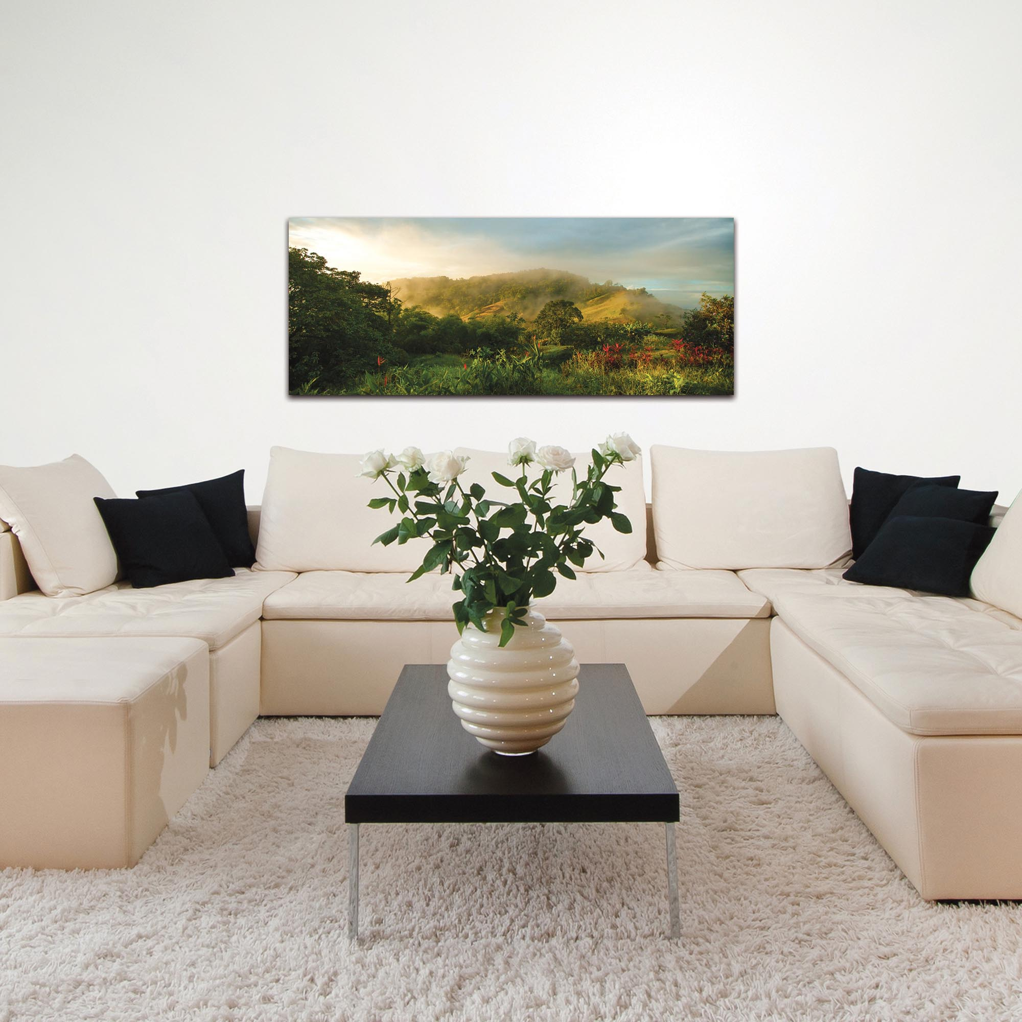 Landscape Photography 'Storybook Hills' - Mountain Scene Art on Metal or Plexiglass - Lifestyle View