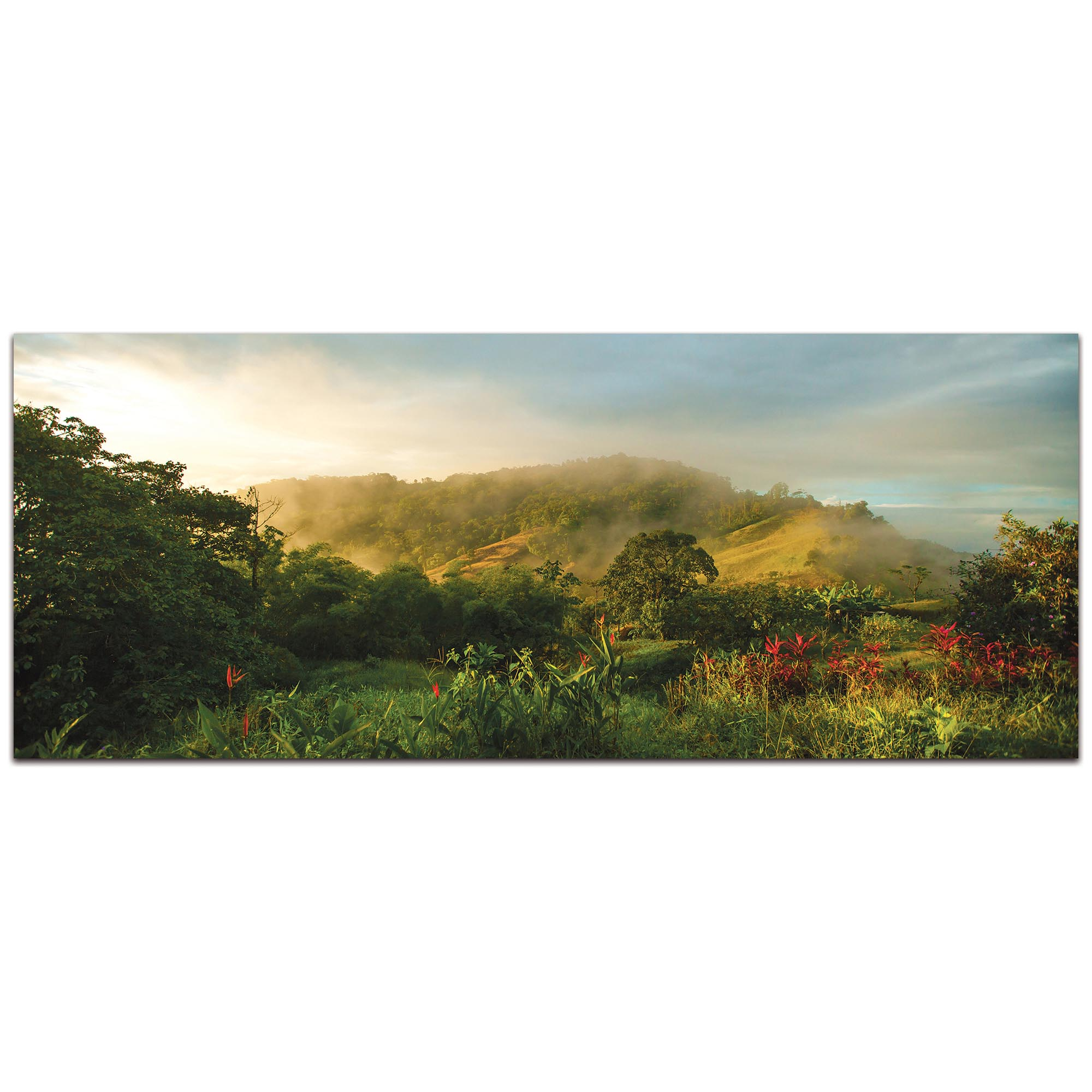 Landscape Photography 'Storybook Hills' - Mountain Scene Art on Metal or Plexiglass