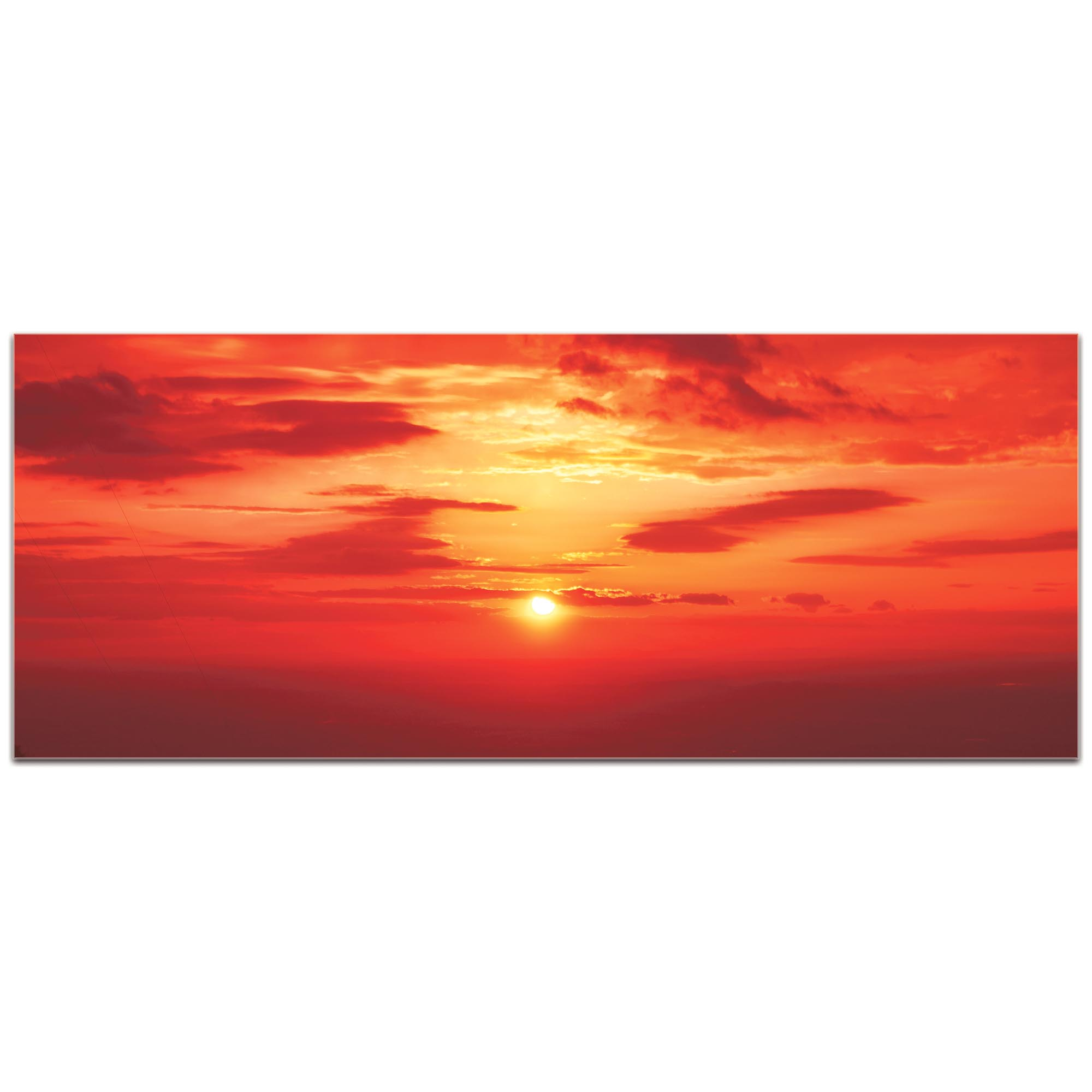 Landscape Photography 'Skies of Flame' - Sunset Art on Metal or Plexiglass - Image 2