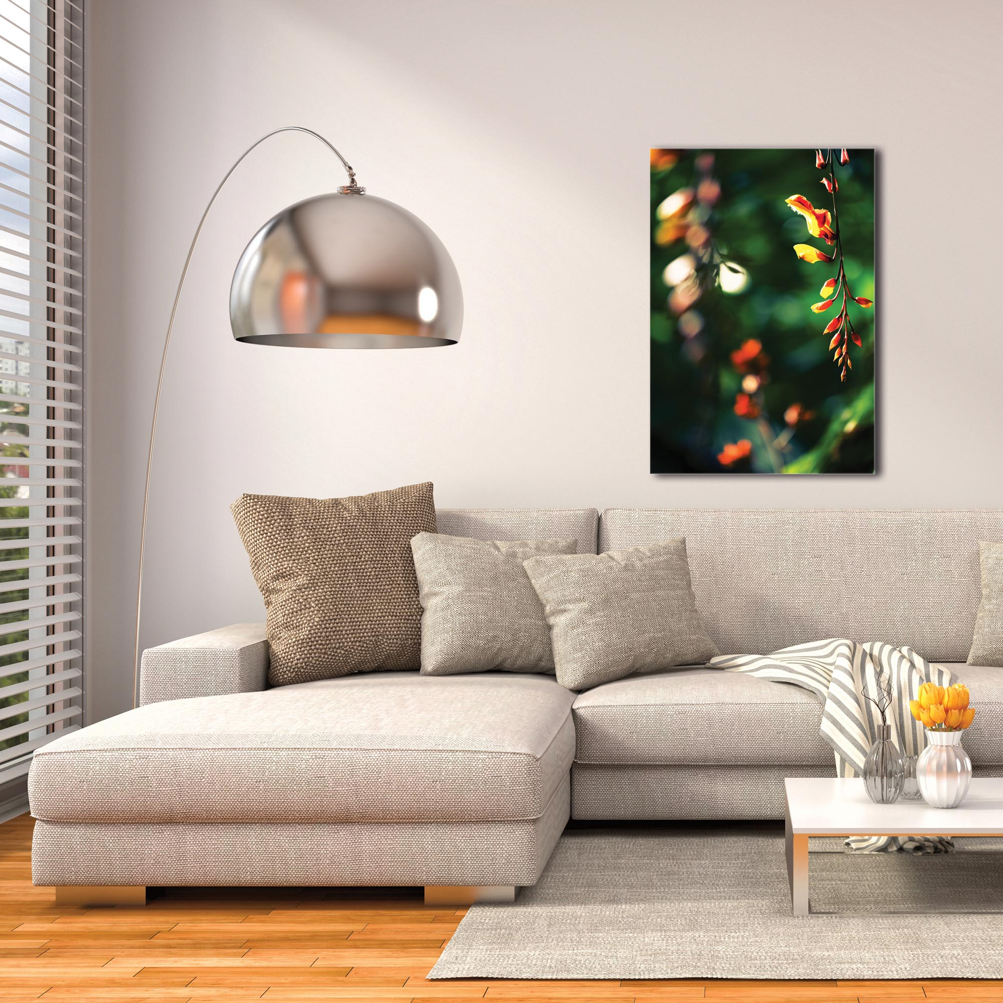 Nature Photography 'Hanging Flowers' - Flower Blossom Art on Metal or Plexiglass - Image 3