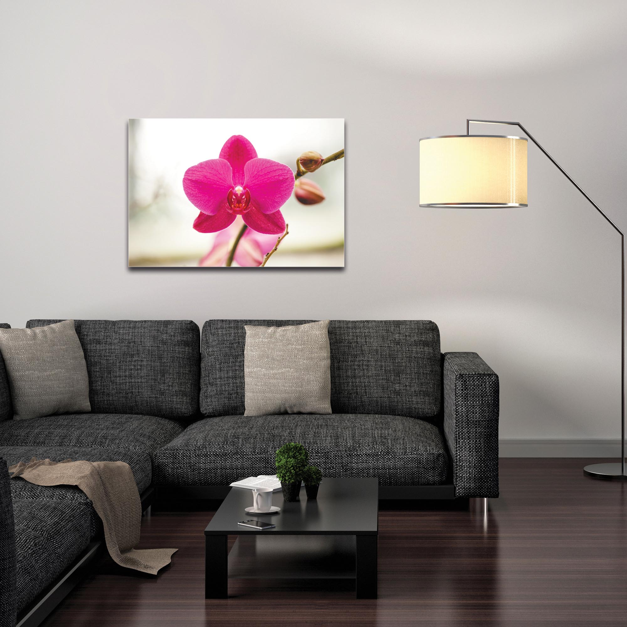 Nature Photography 'Magenta Bloom' - Flower Blossom Art on Metal or Plexiglass - Image 3