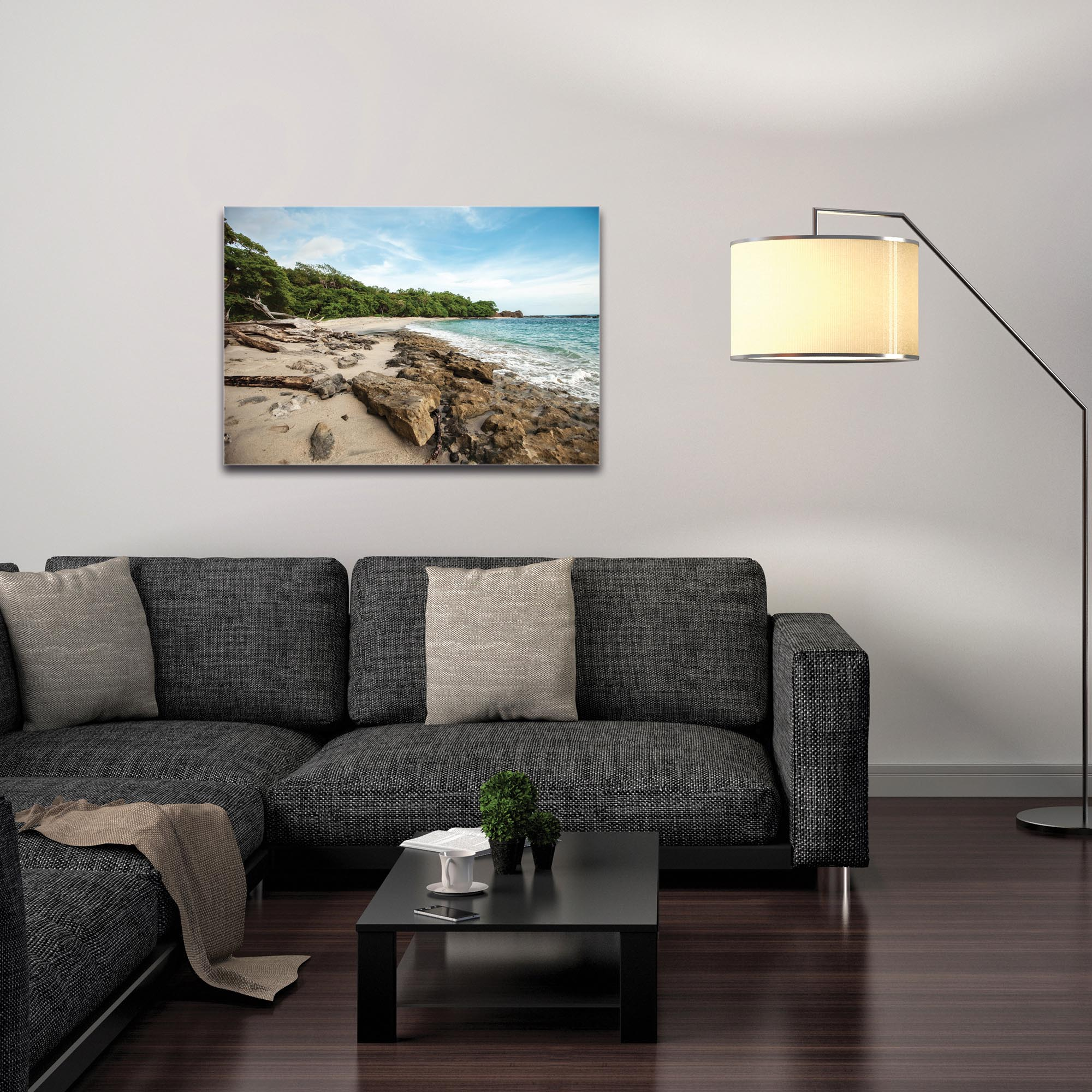 Coastal Wall Art 'Tropical Jungle' - Beach Decor on Metal or Plexiglass - Image 3