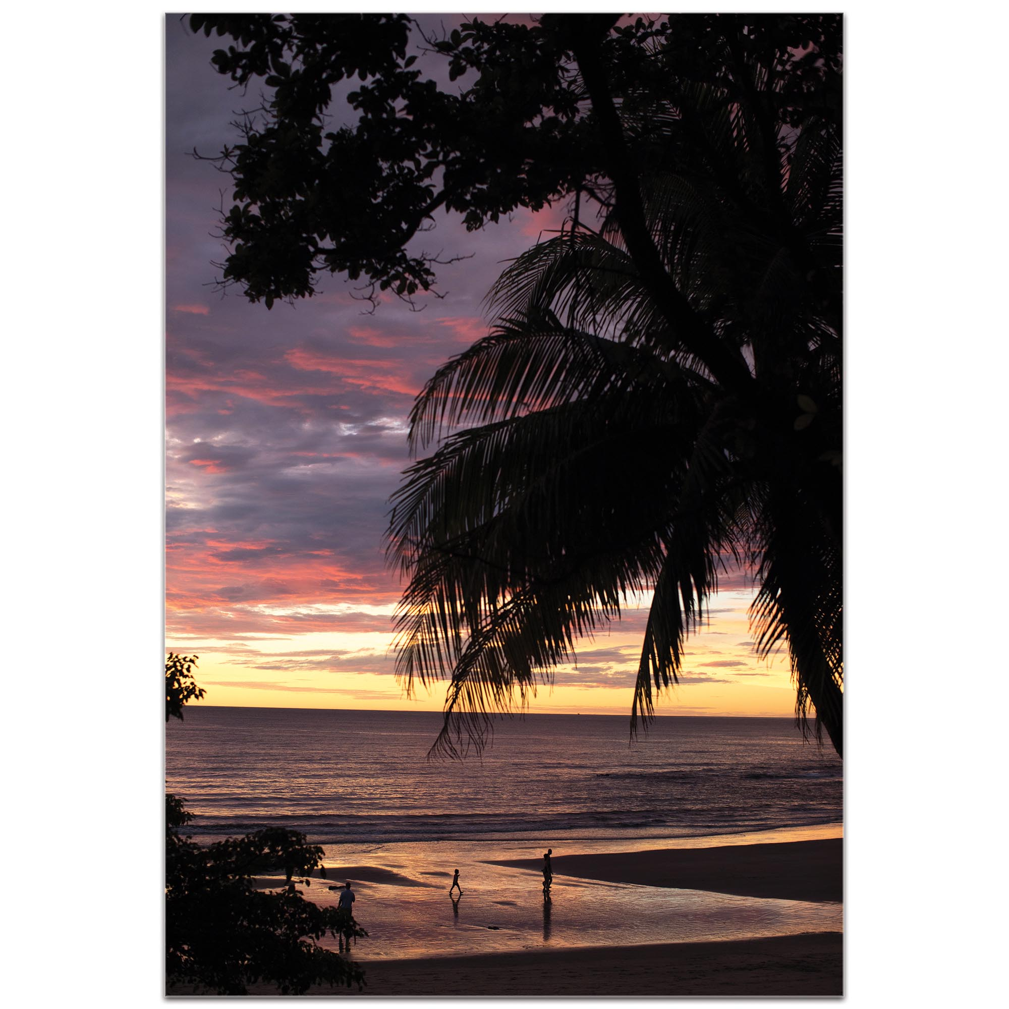 Coastal Wall Art 'Coastal Sunset Skies' - Beach Sunset Decor on Metal or Plexiglass - Image 2