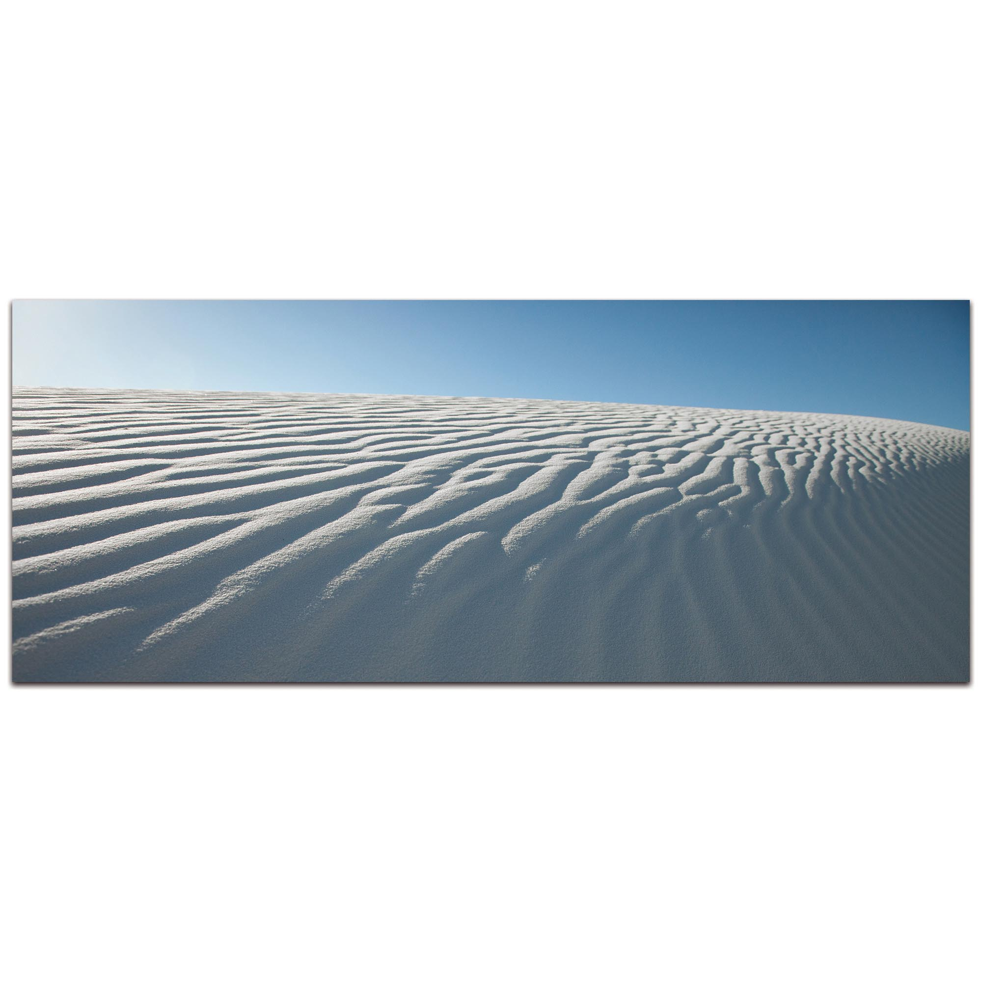 Landscape Photography 'Rippled Sand' - Sand Dunes Art on Metal or Plexiglass
