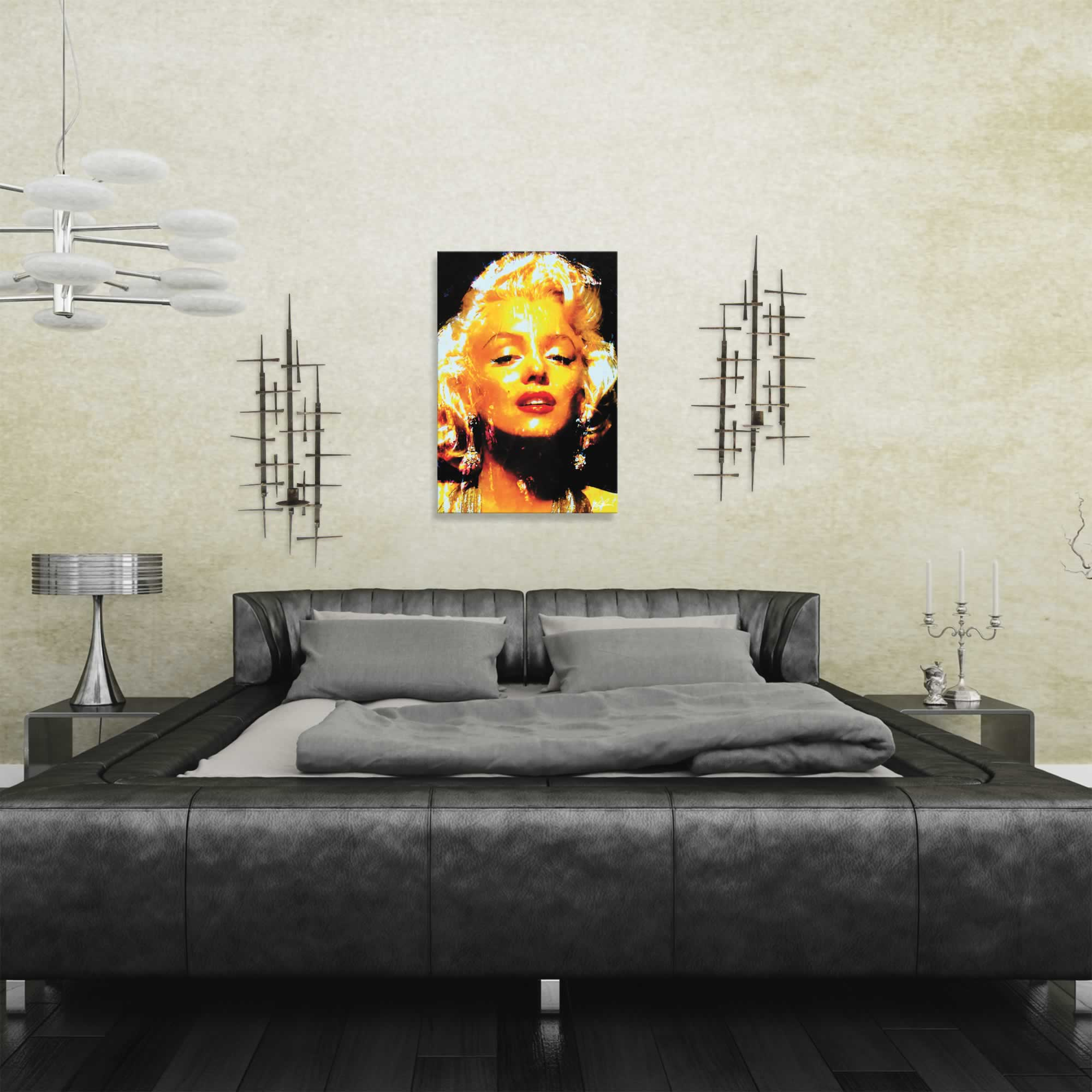 Marilyn Monroe Restoration | Pop Art Painting by Mark Lewis, Signed & Numbered Limited Edition - ML0026