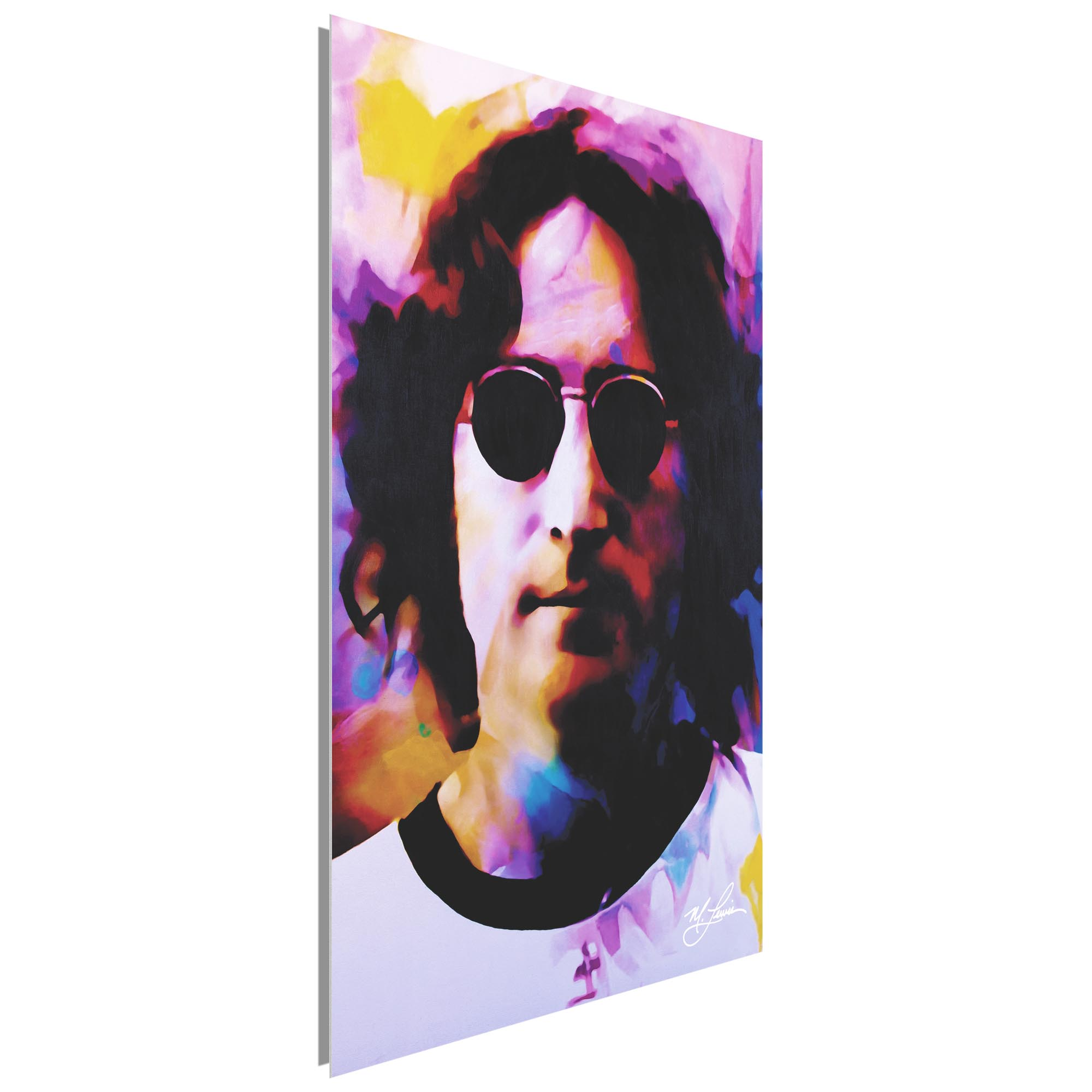 John Lennon Dance of Emotion 22x32 Metal or Plexiglass Pop Art Portrait - Image 2