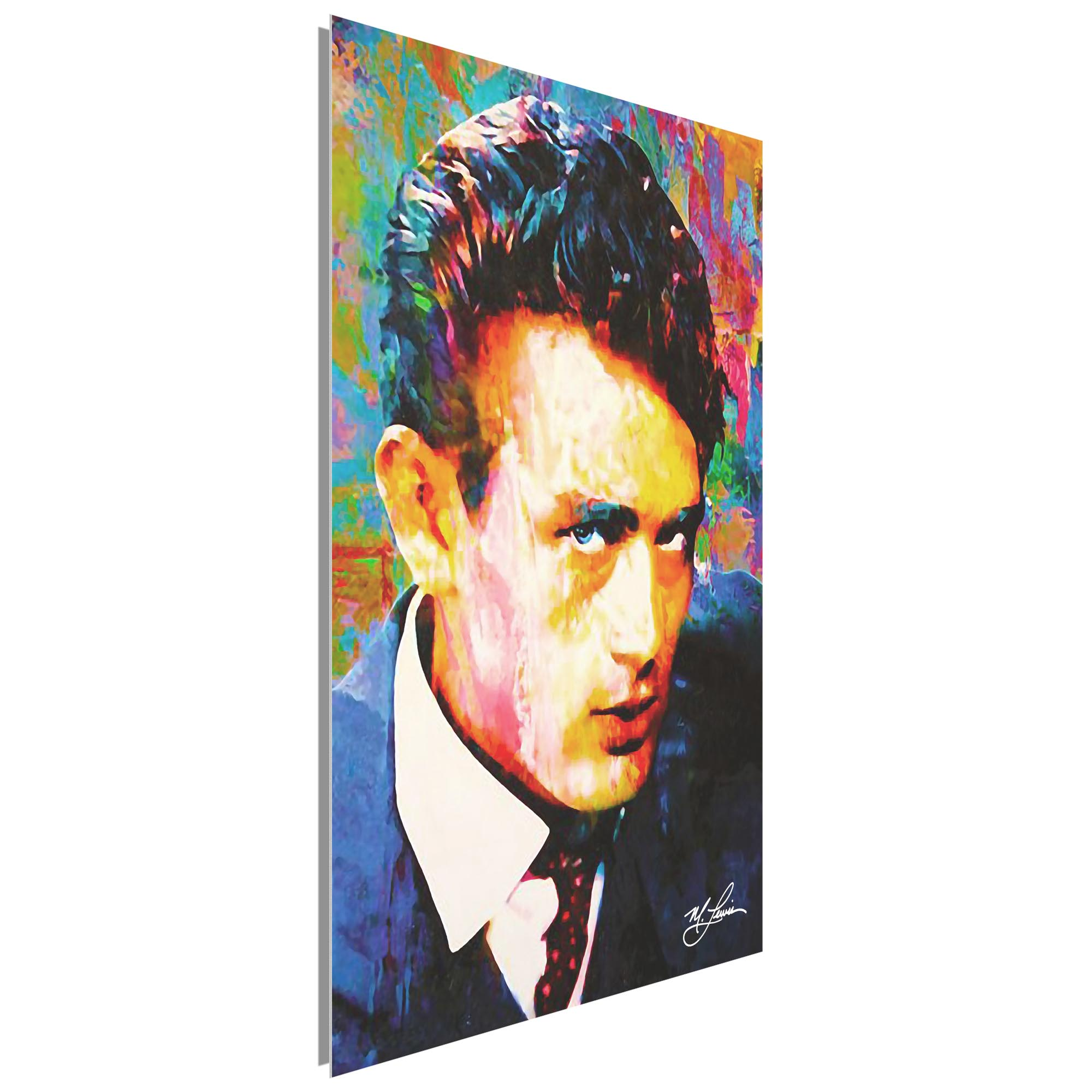 James Dean Lifes Significance 22x32 Metal or Plexiglass Pop Art Portrait - Image 2