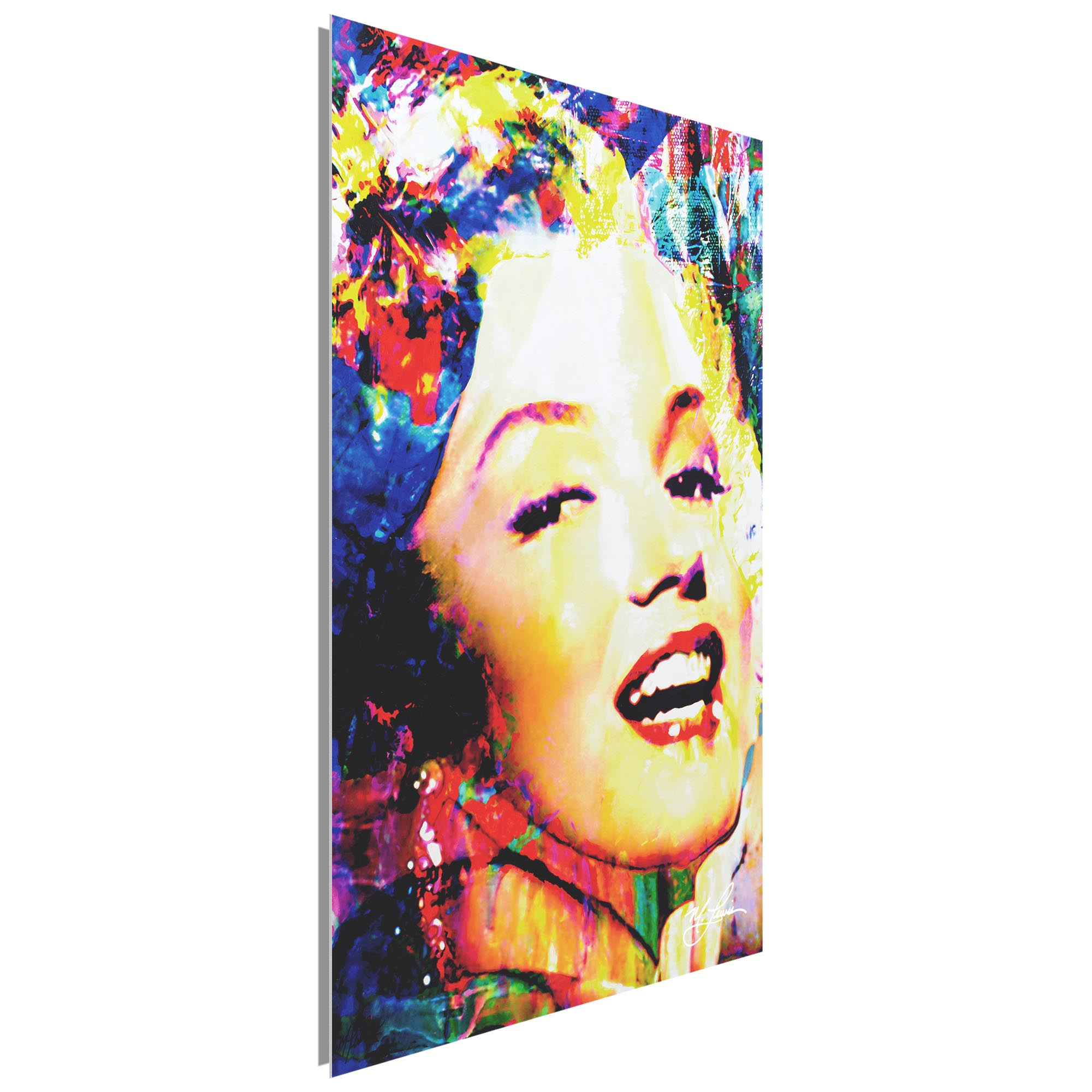 Marilyn Monroe Marilyn Bee 22x32 Metal or Plexiglass Pop Art Portrait - Image 2