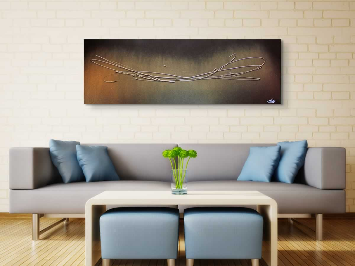 The Gold Touch  - Original Canvas Art - Alternate Image