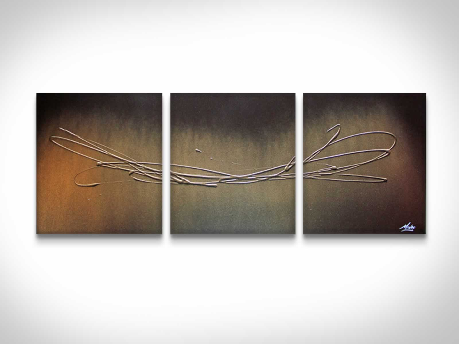 The Gold Touch  - Original Canvas Art