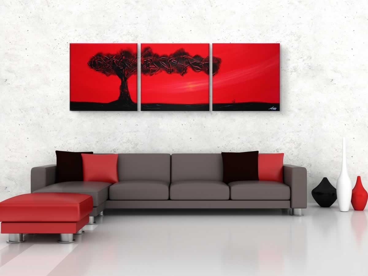 The Tree of Life  - Original Canvas Art - Lifestyle Image