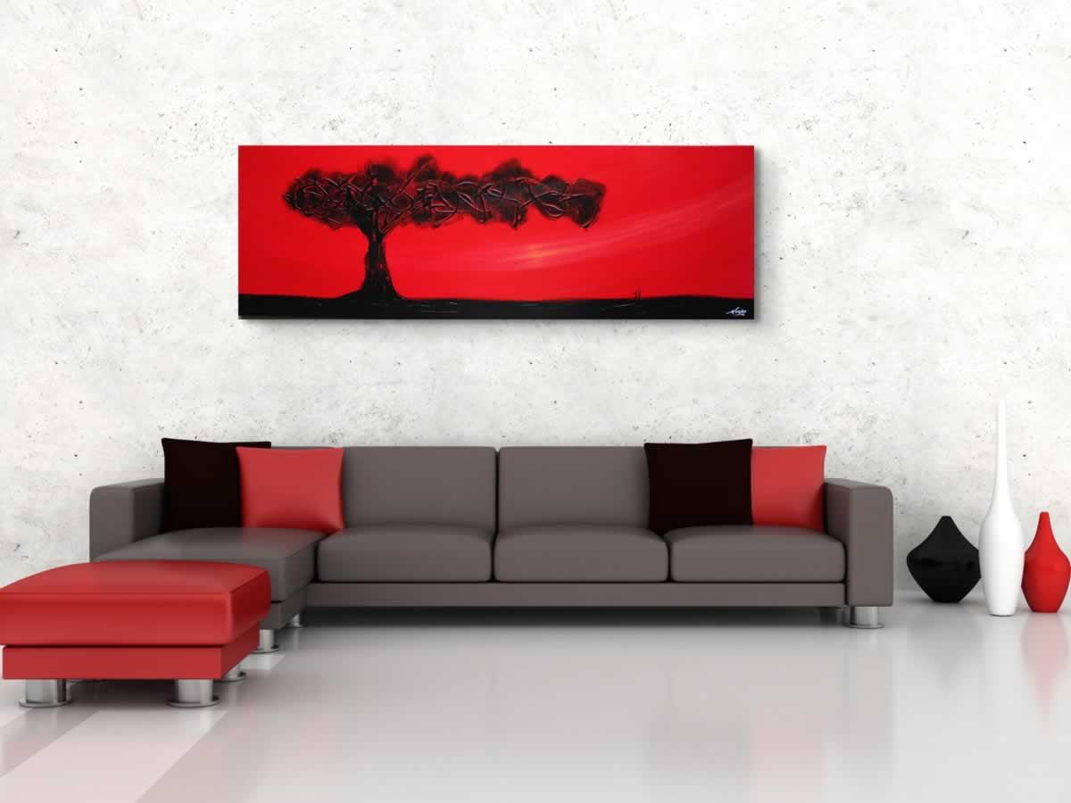 The Tree of Life  - Original Canvas Art - Alternate Image