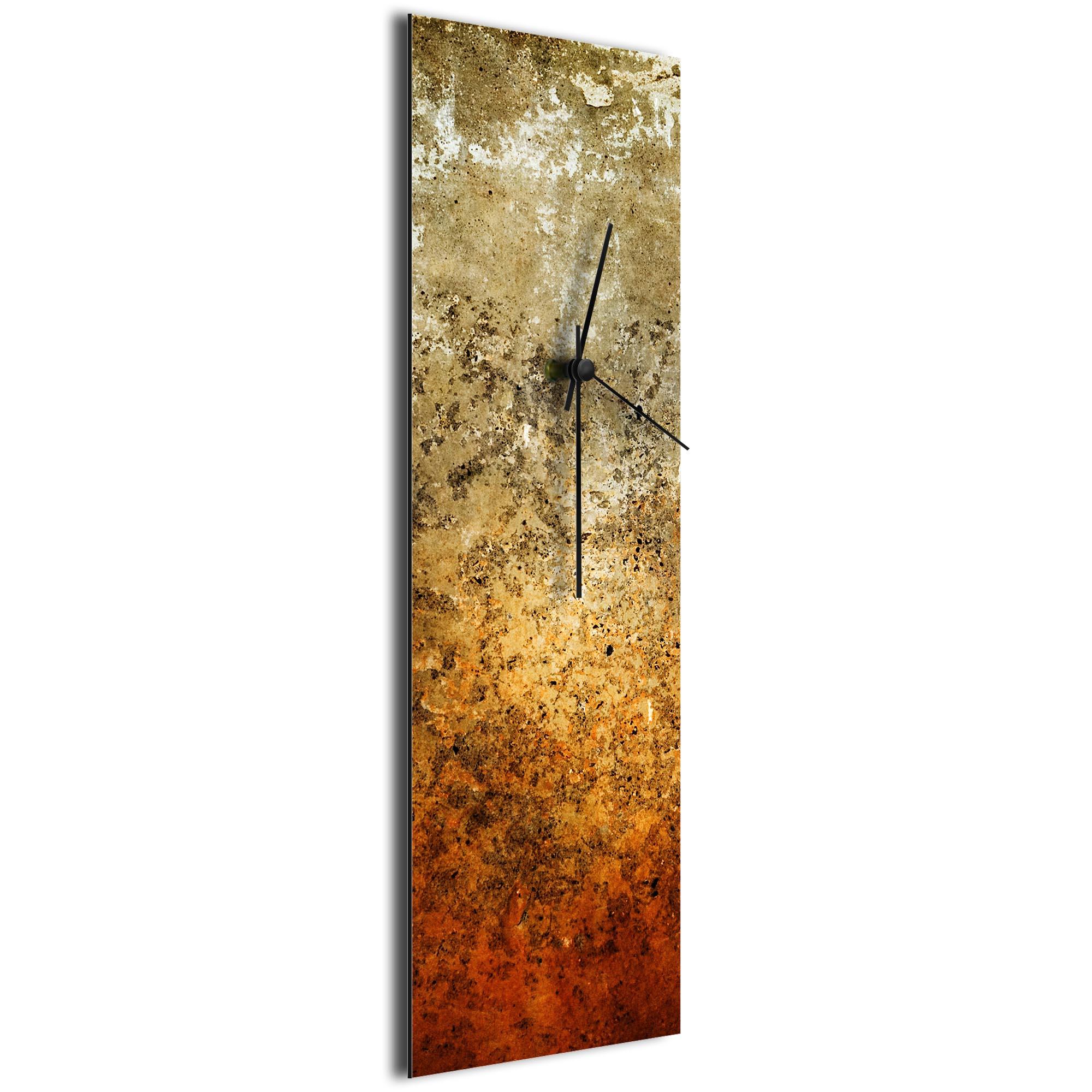 Sentinal Clock v1 by NAY - Distressed Modern Wall Clock - Image 2