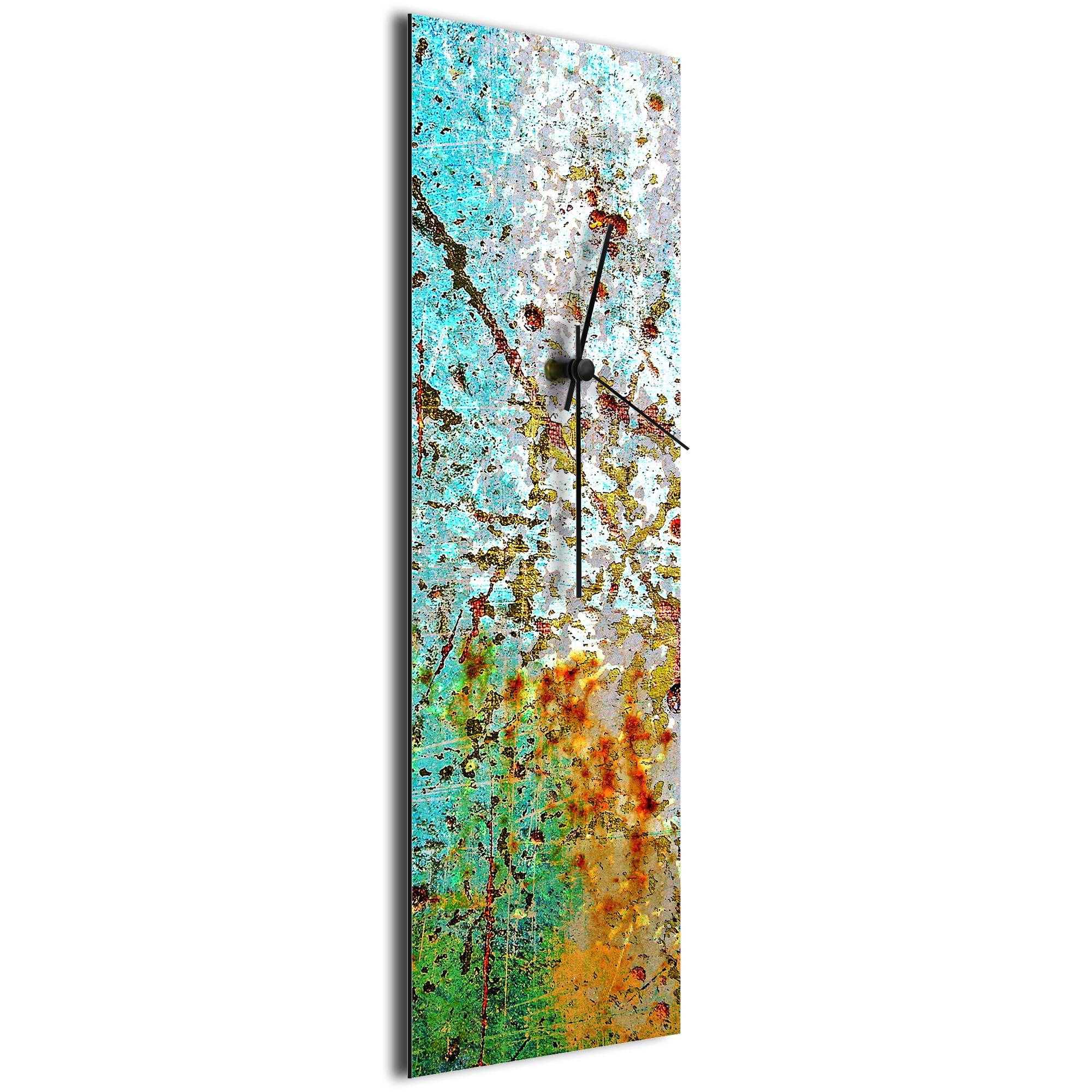 Sentinal Clock v2 by NAY - Distressed Modern Wall Clock - Image 2